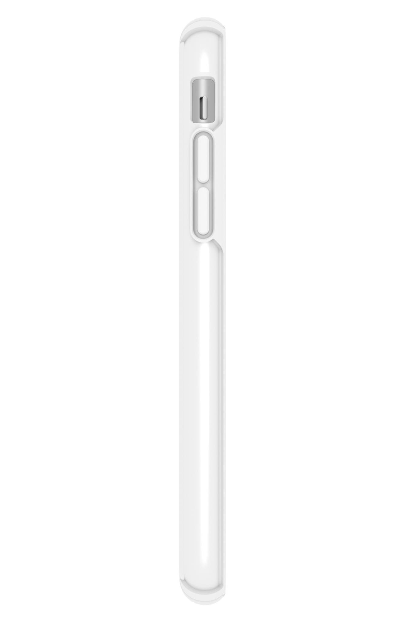 Transparent iPhone X Case,                             Alternate thumbnail 5, color,                             Clear/ Bright White