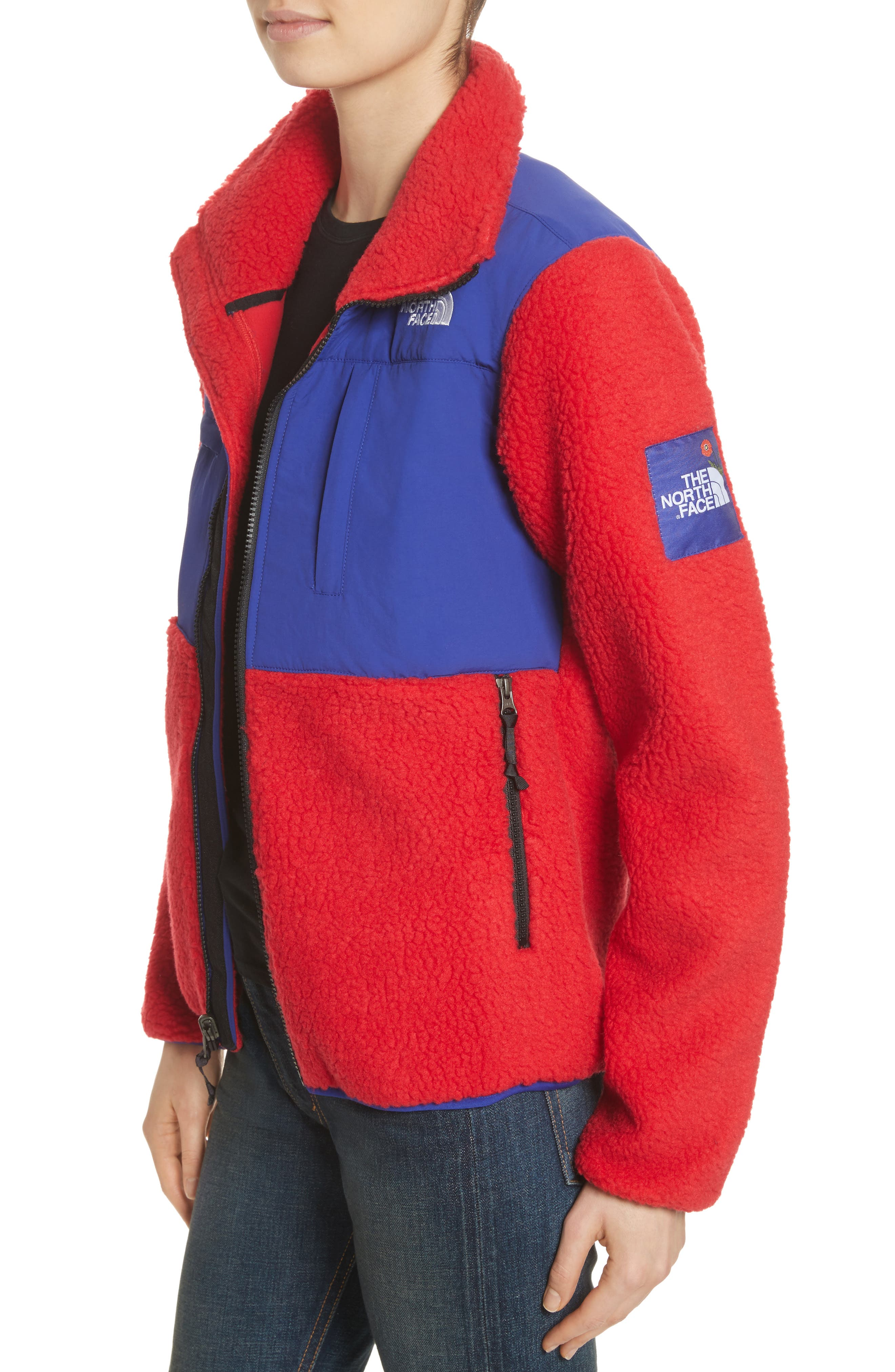 Denali Jacket,                             Alternate thumbnail 5, color,                             Tnf Red