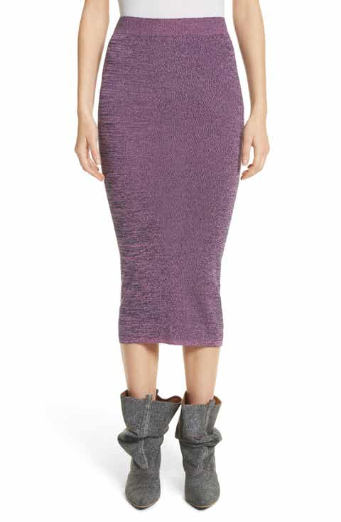 Stella McCartney Cotton Mouline Pencil Skirt