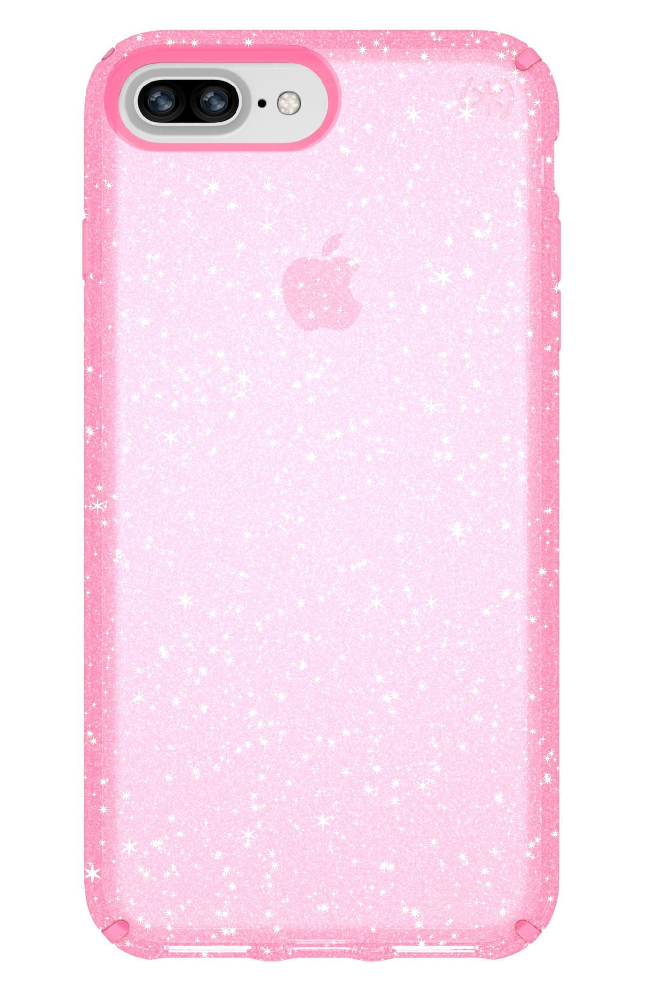iPhone 6/6s/7/8 Plus Case,                         Main,                         color, Bella Pink Gold Glitter/ Pink