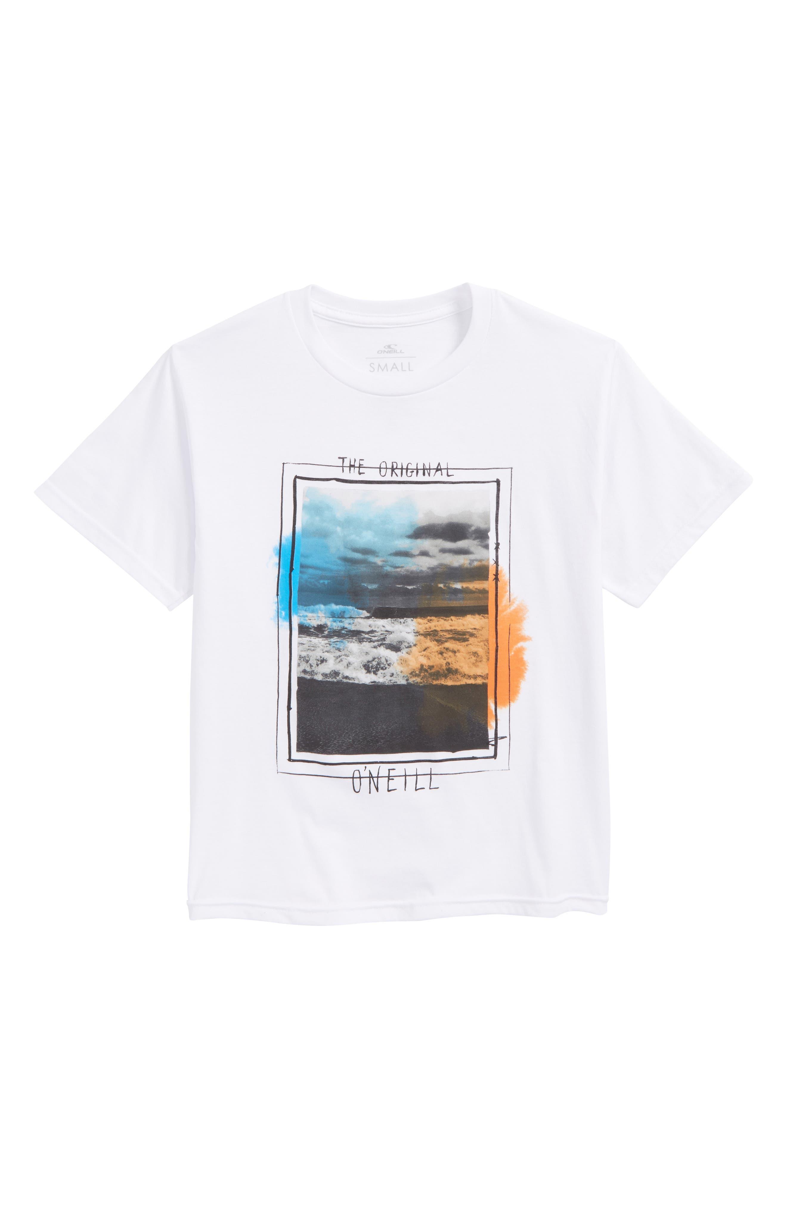 Tide Graphic T-Shirt,                         Main,                         color, White