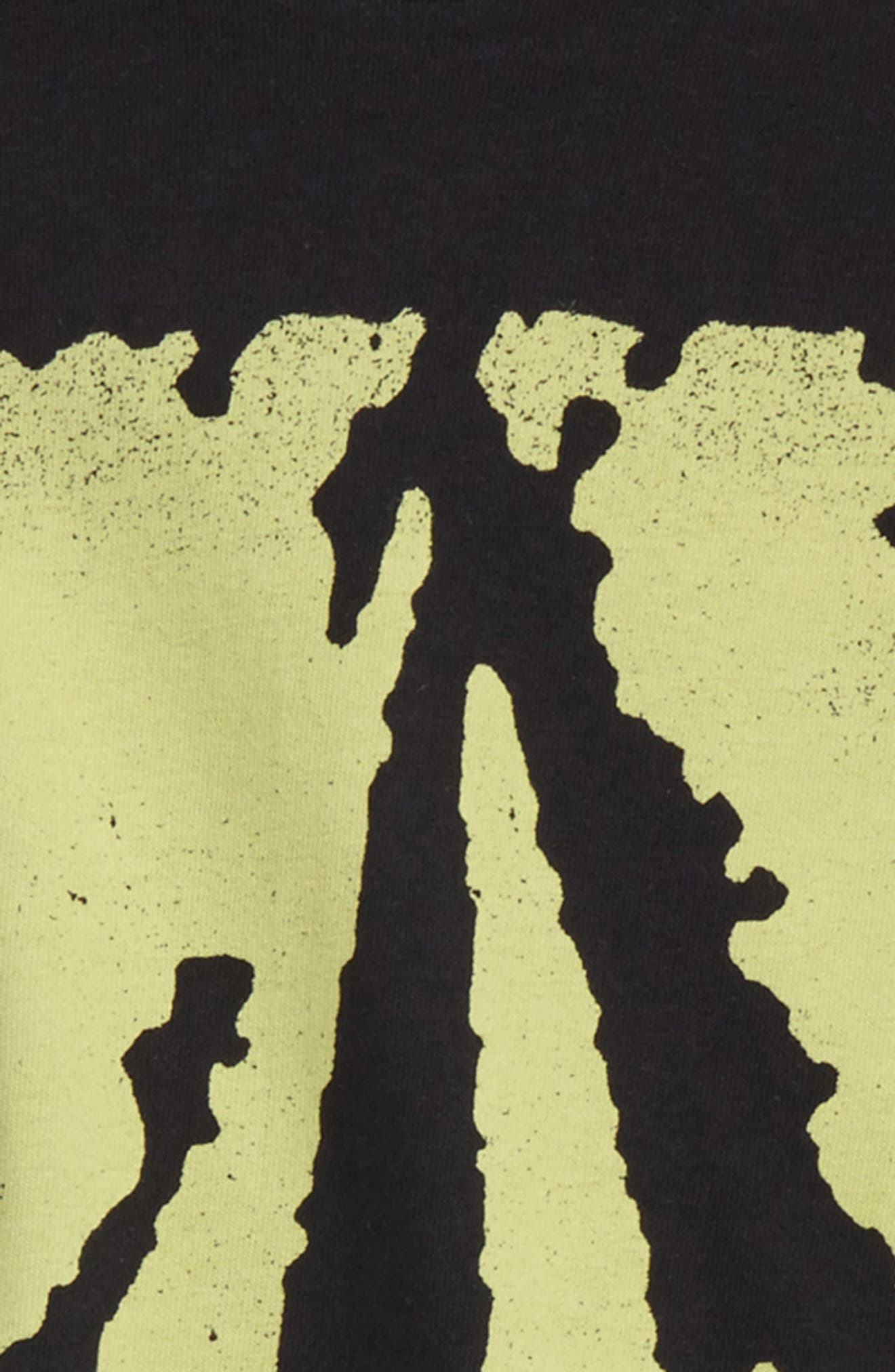 Pixel Stone T-Shirt,                             Alternate thumbnail 2, color,                             Black