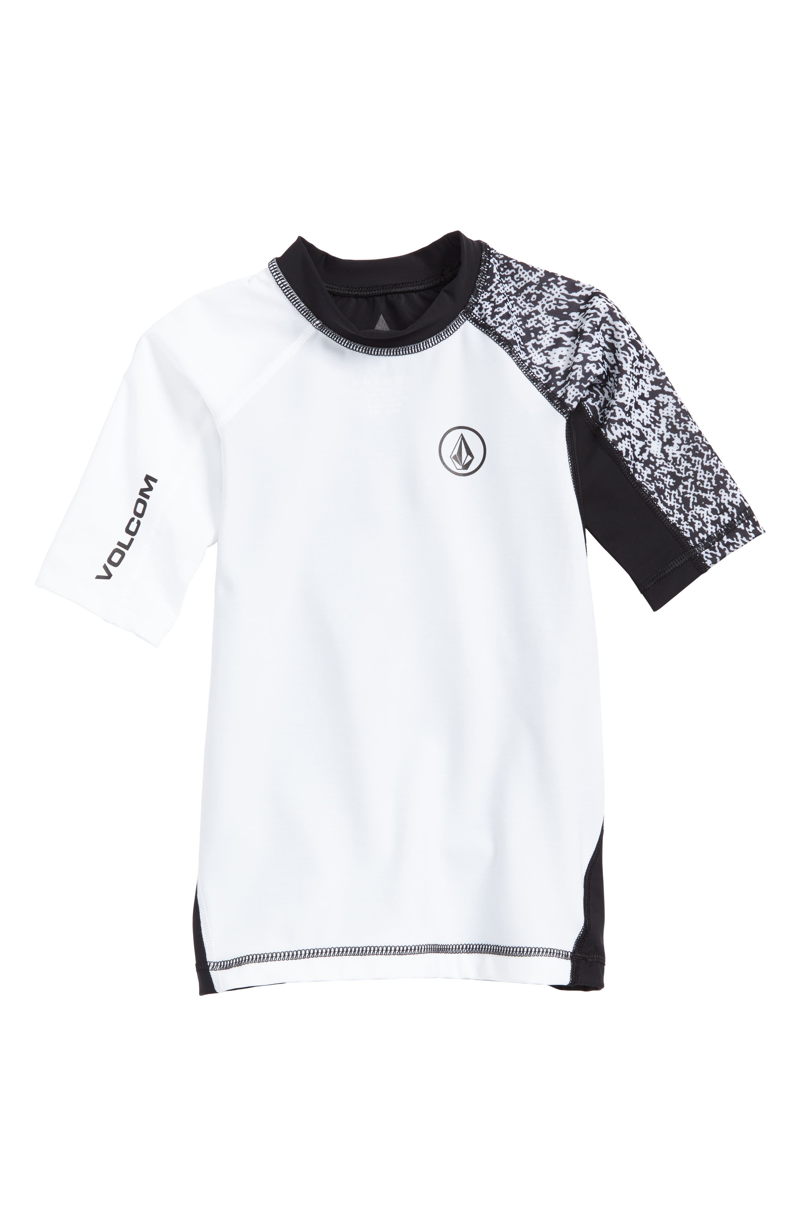 Volcom Lido Block Short Sleeve Rashguard (Toddler Boys & Little Boys)