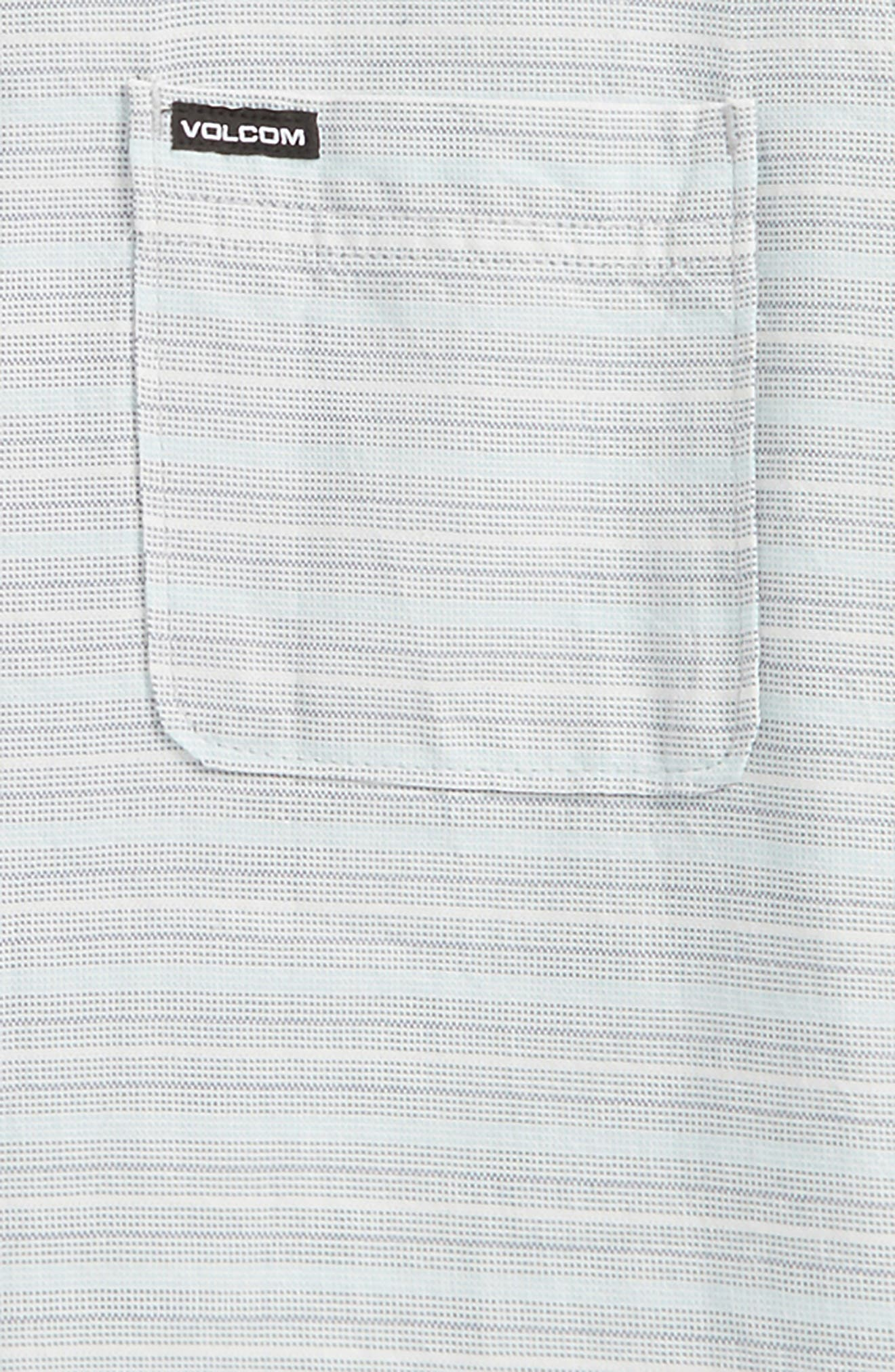 Alternate Image 2  - Volcom Eastport Basket Weave Shirt (Big Boys)