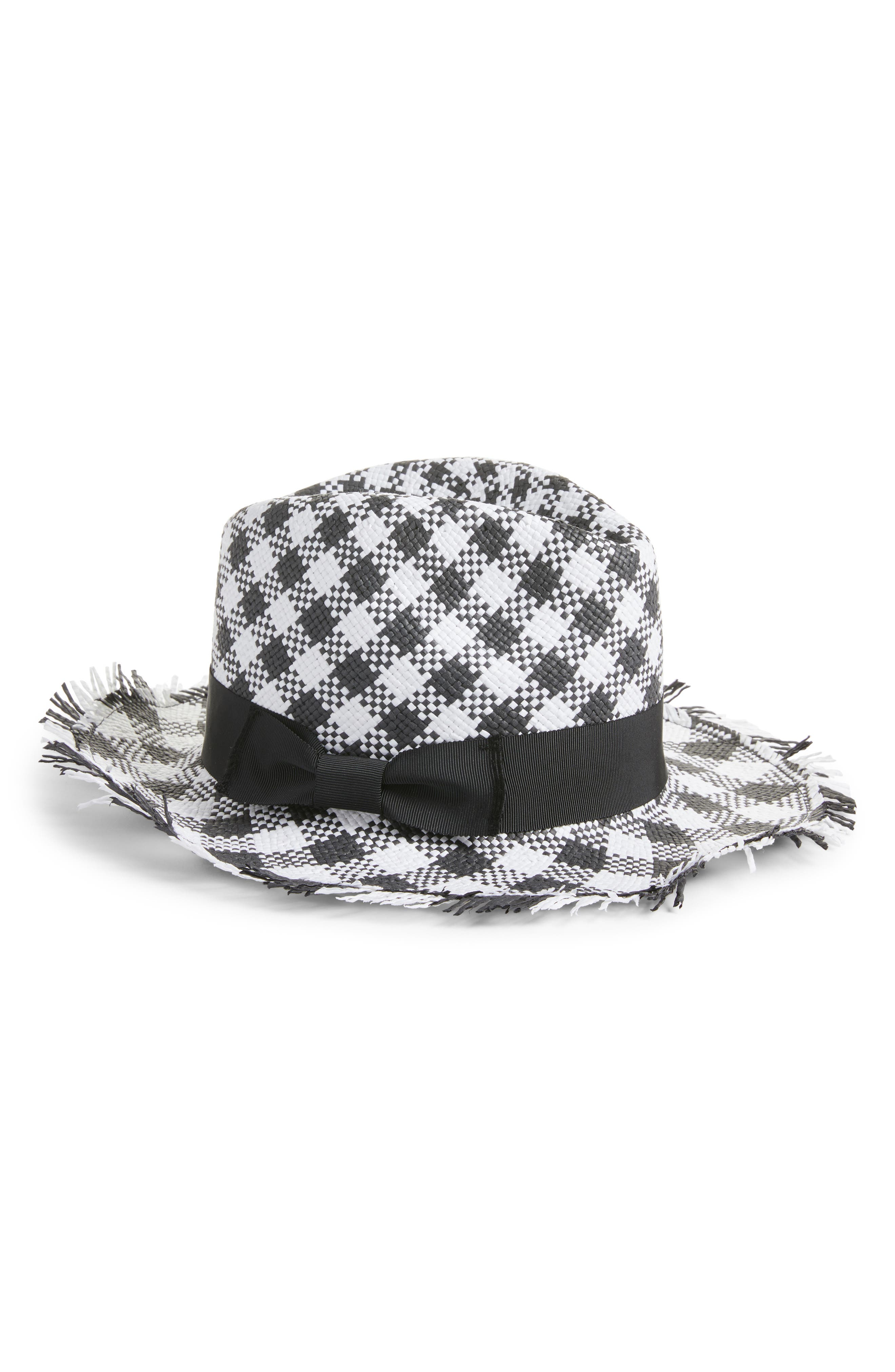 Main Image - kate spade new york gingham trilby