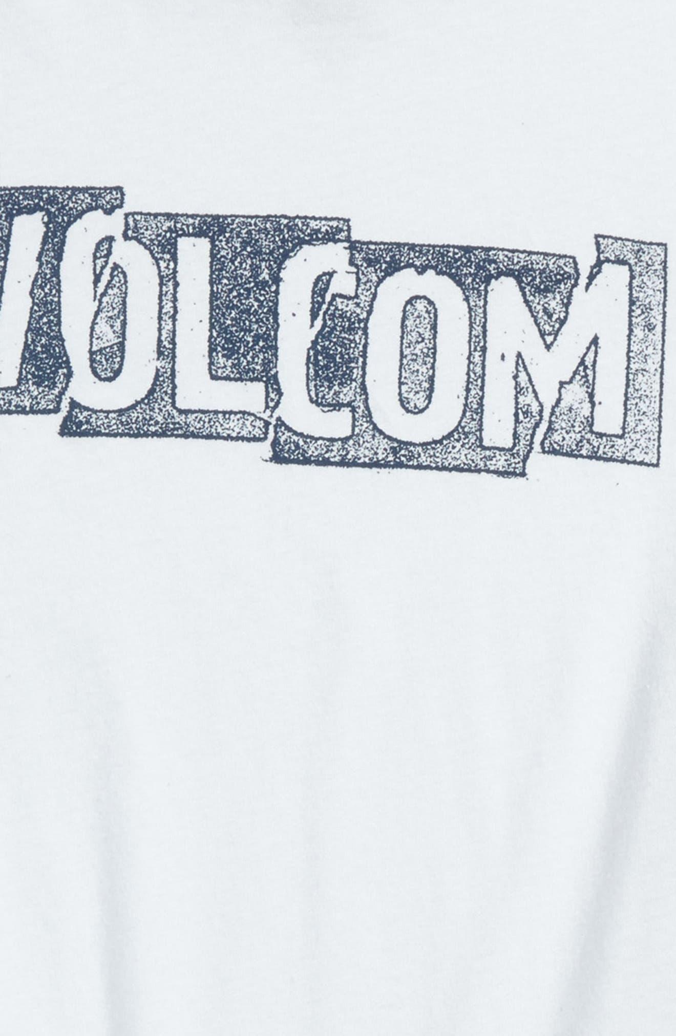 Edge Graphic T-Shirt,                             Alternate thumbnail 2, color,                             White