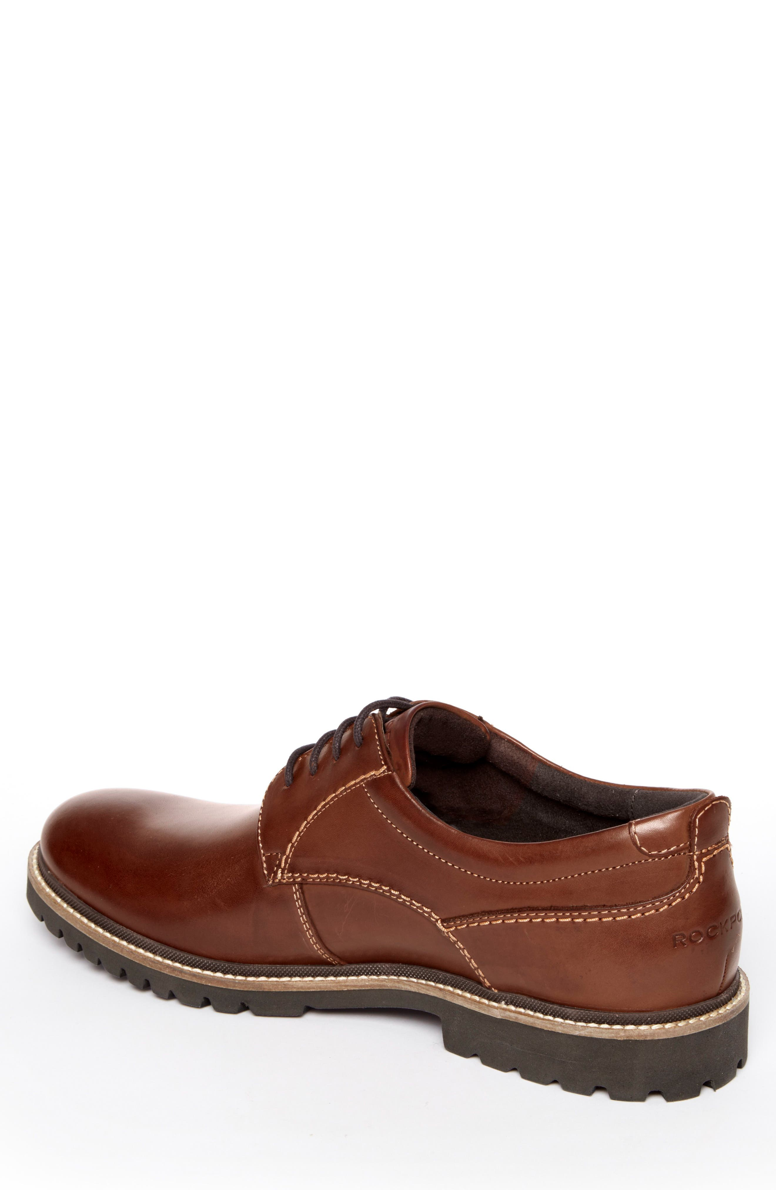 Marshall Buck Shoe,                             Alternate thumbnail 2, color,                             Dark Brown Leather