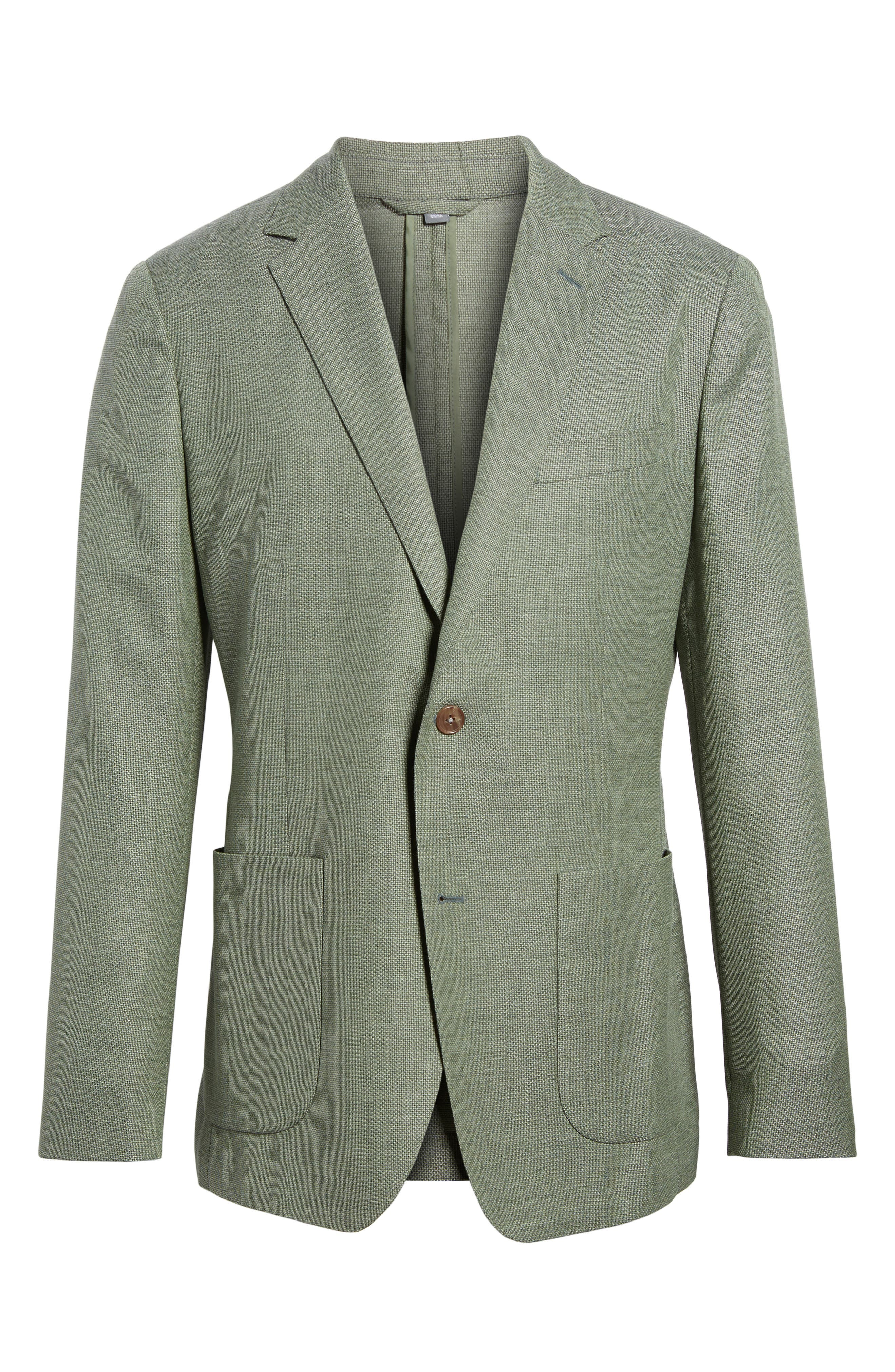 Alternate Image 6  - Bonobos Trim Fit Wool Unconstructed Blazer