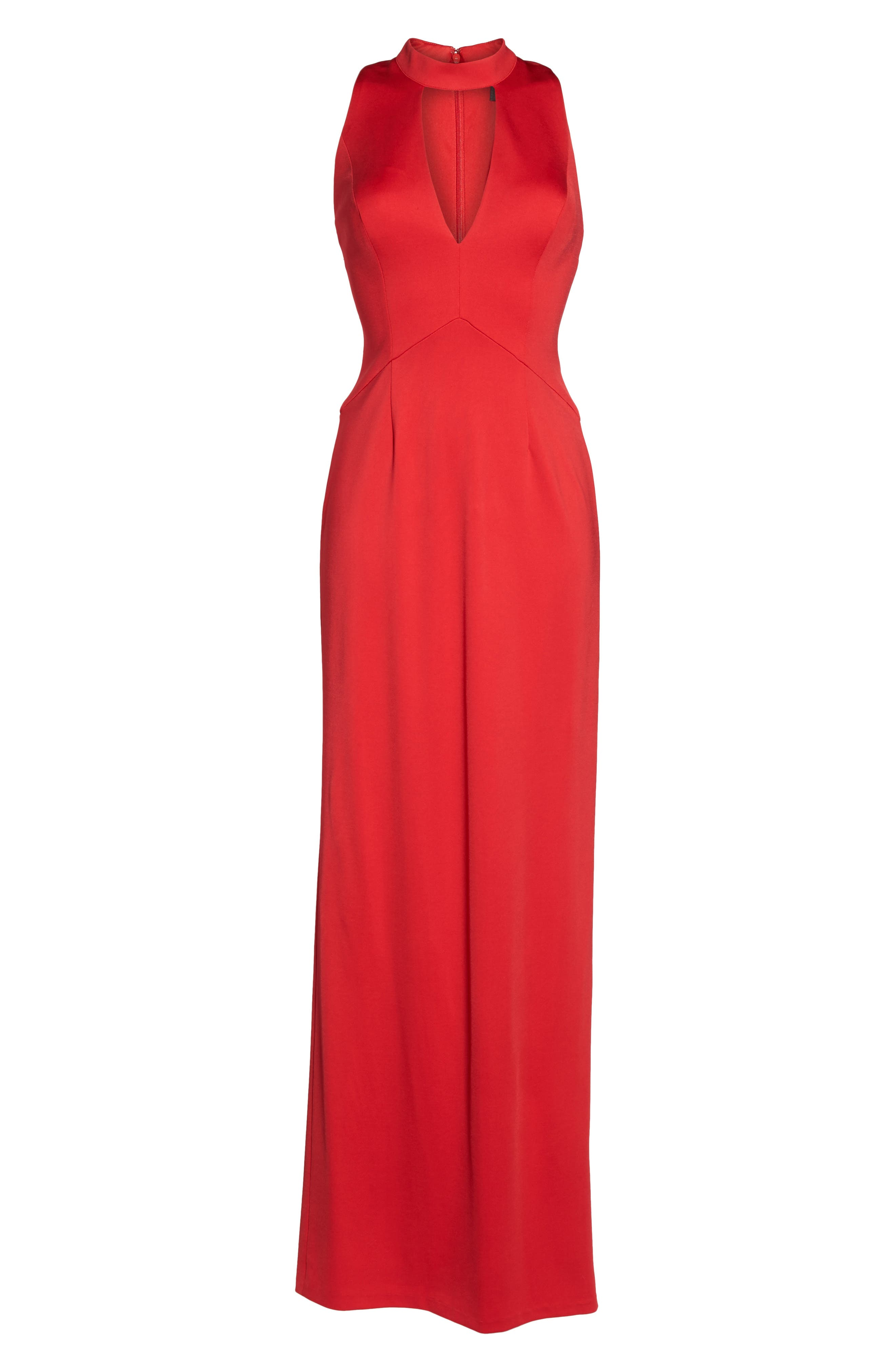 Alternate Image 6  - Adrianna Papell Lola Corset Back Jersey Gown