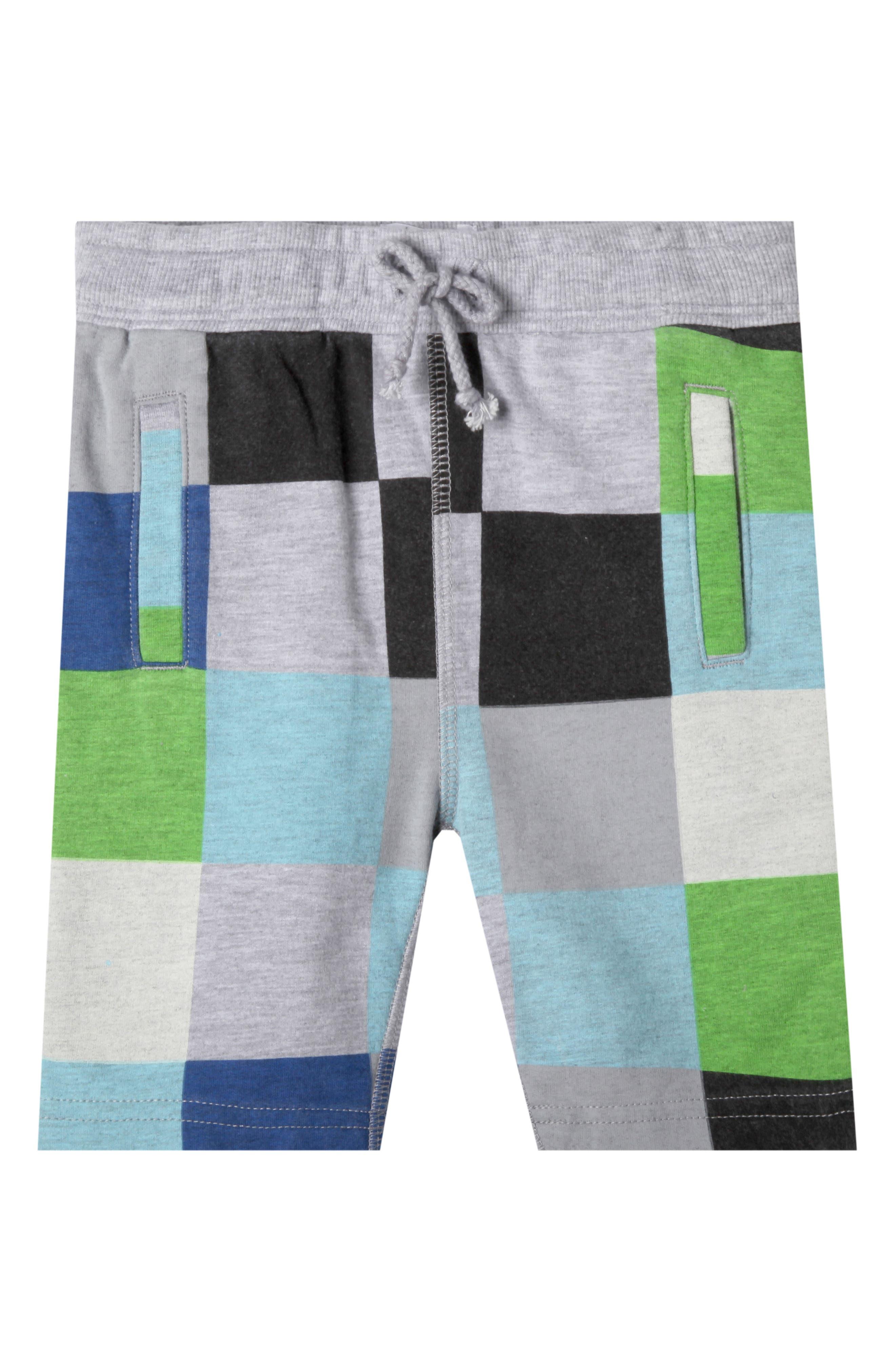 Lucas Organic Cotton Shorts,                             Main thumbnail 1, color,                             Wave Blue