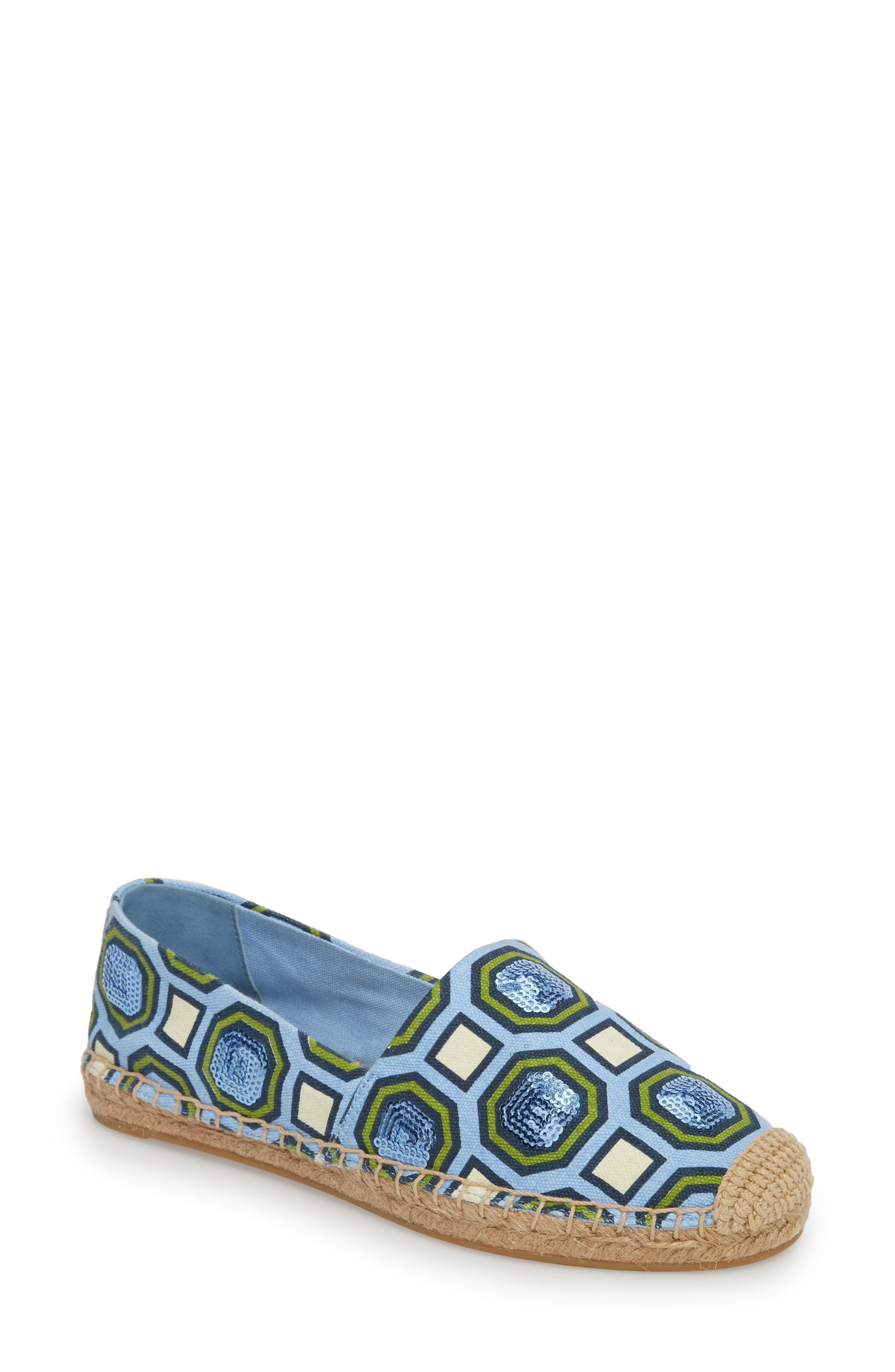 Tory Burch Cecily Sequin Embellished Espadrille (Women)