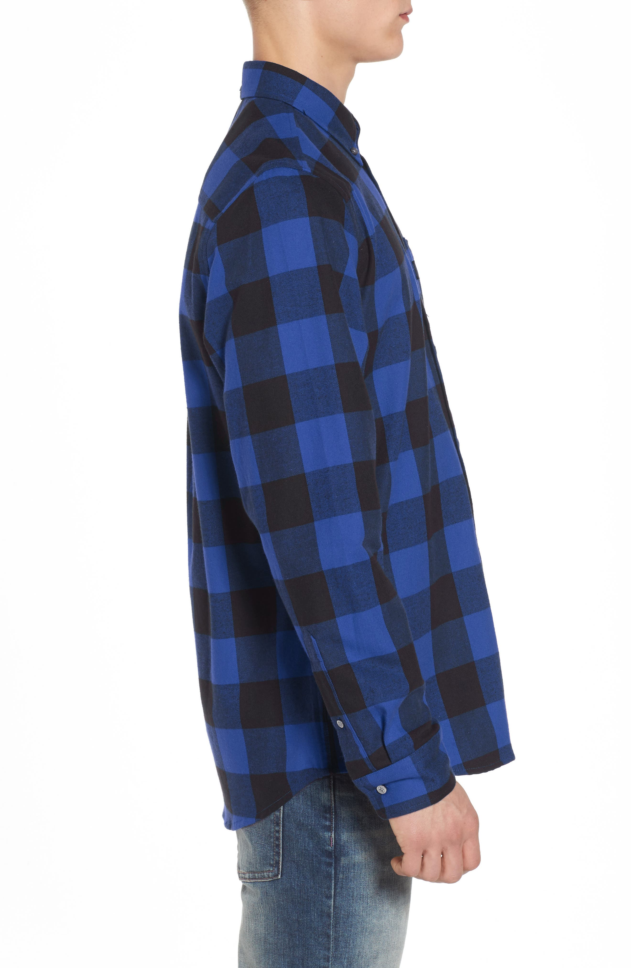 Alternate Image 3  - WeSC Olavi Check Flannel Shirt