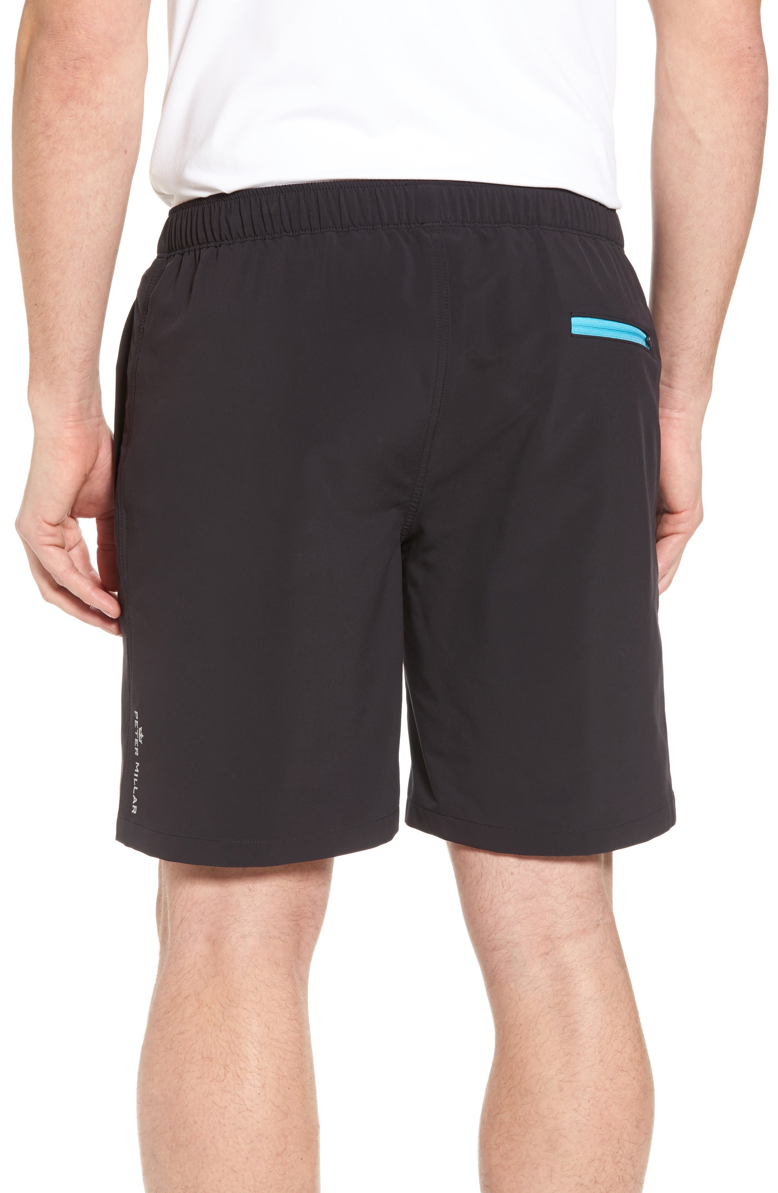 Oslo Sport Shorts,                             Alternate thumbnail 2, color,                             Black