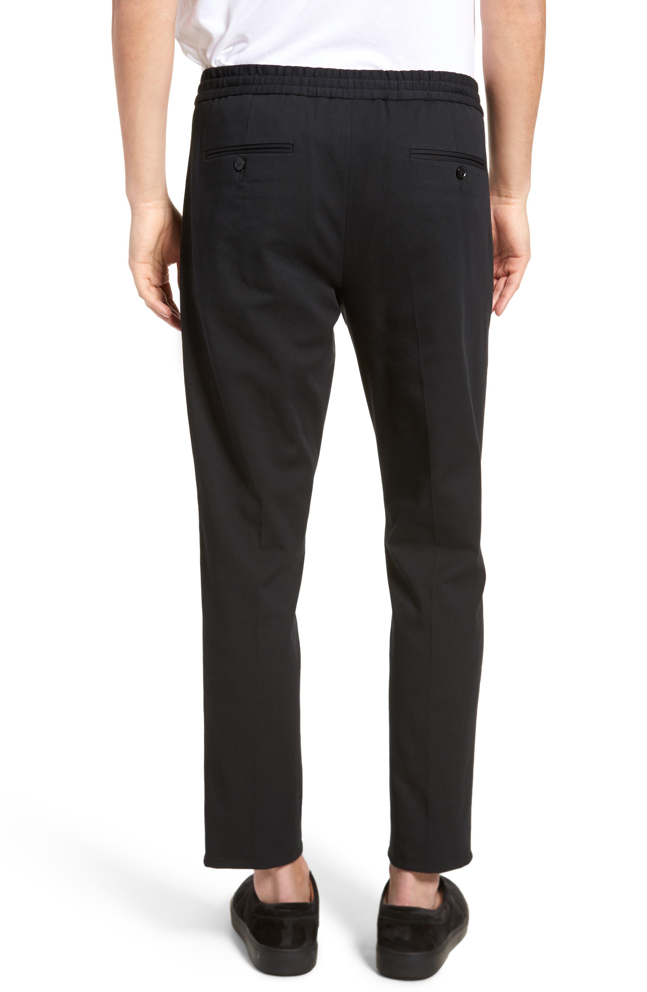 Regular Fit Track Pants,                             Alternate thumbnail 2, color,                             Black