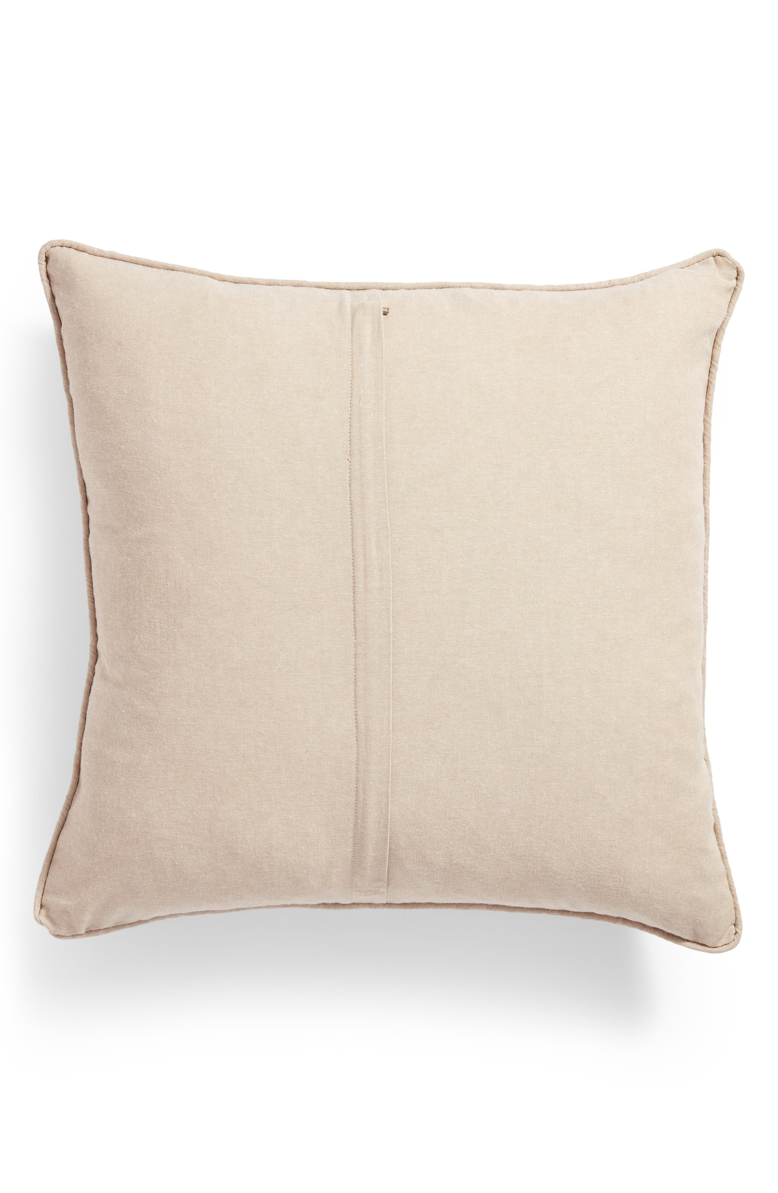 Love Accent Pillow,                             Alternate thumbnail 2, color,                             Taupe