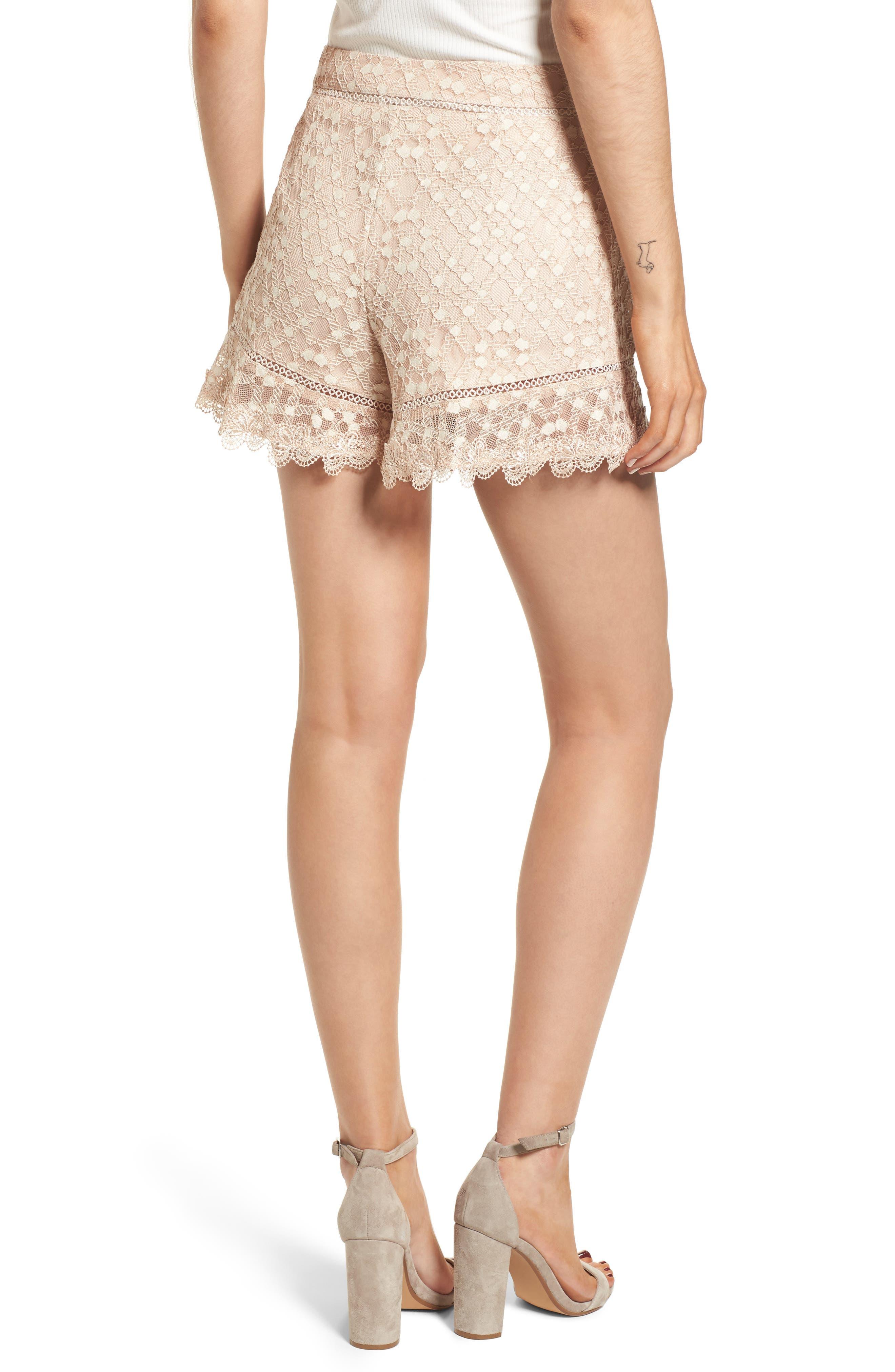 Alternate Image 2  - J.O.A. Lace Shorts