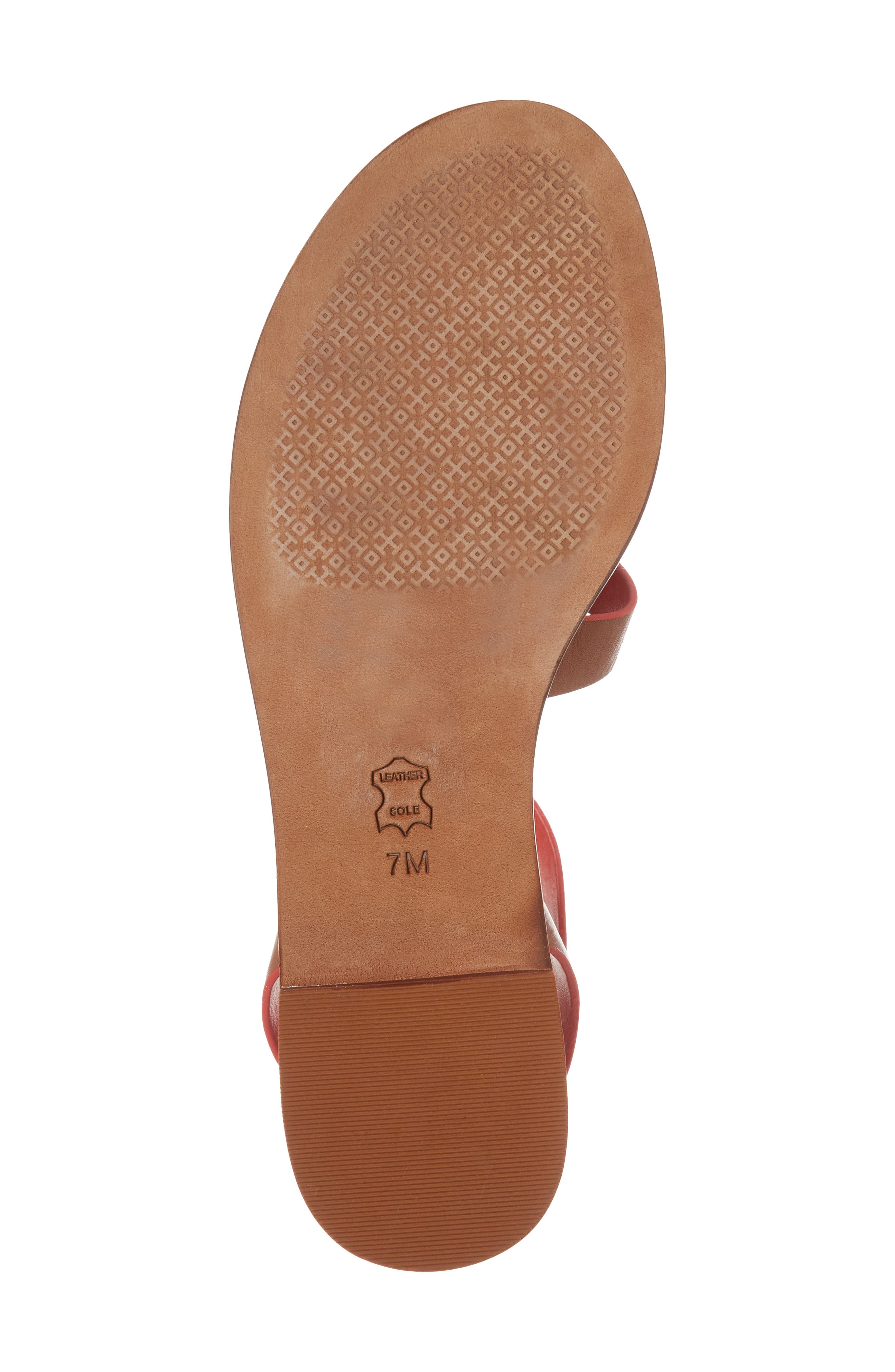 Patos Gladiator Sandal,                             Alternate thumbnail 6, color,                             Perfect Cuoio