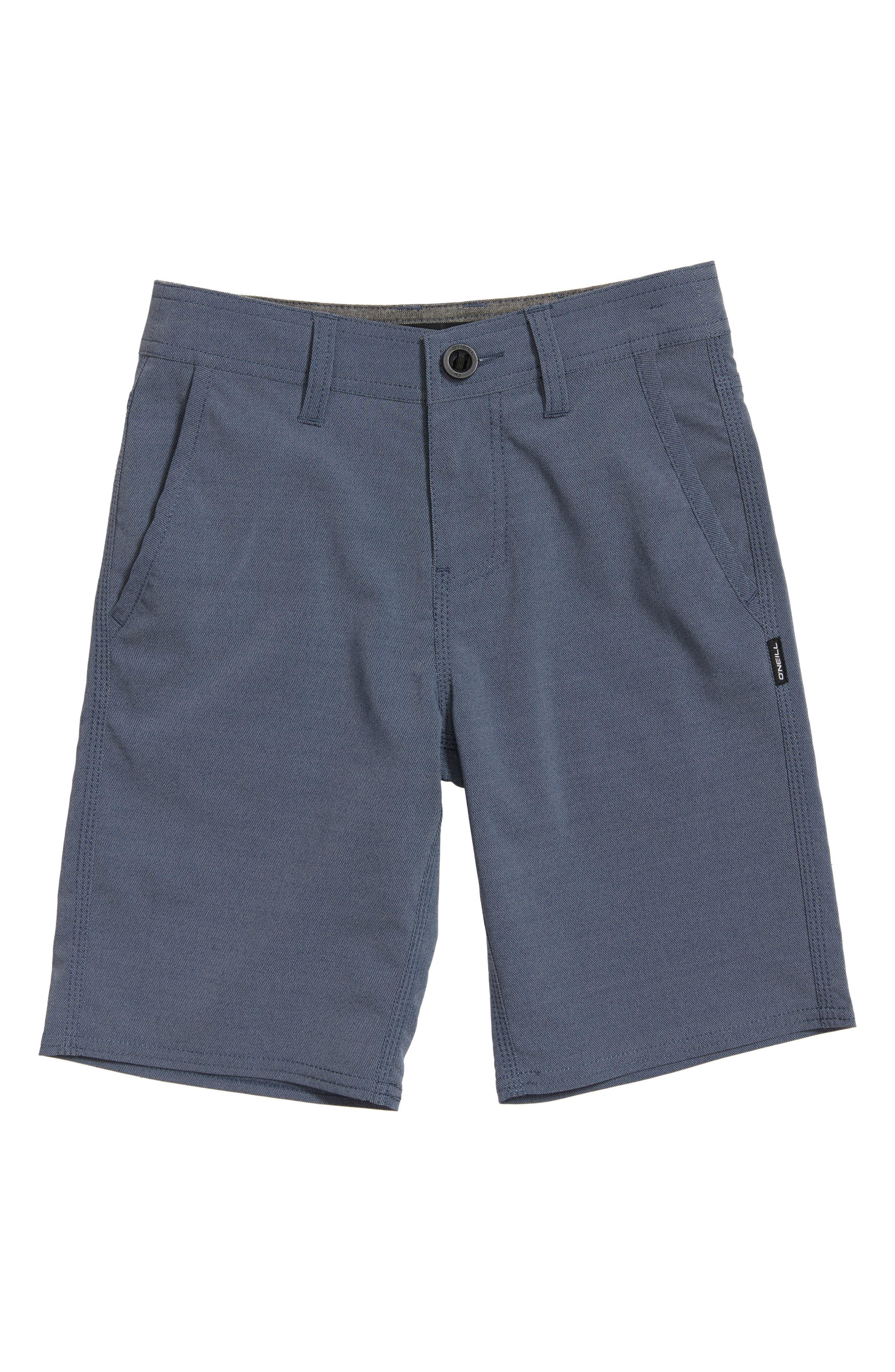 Stockton Hybrid Shorts,                         Main,                         color, Navy