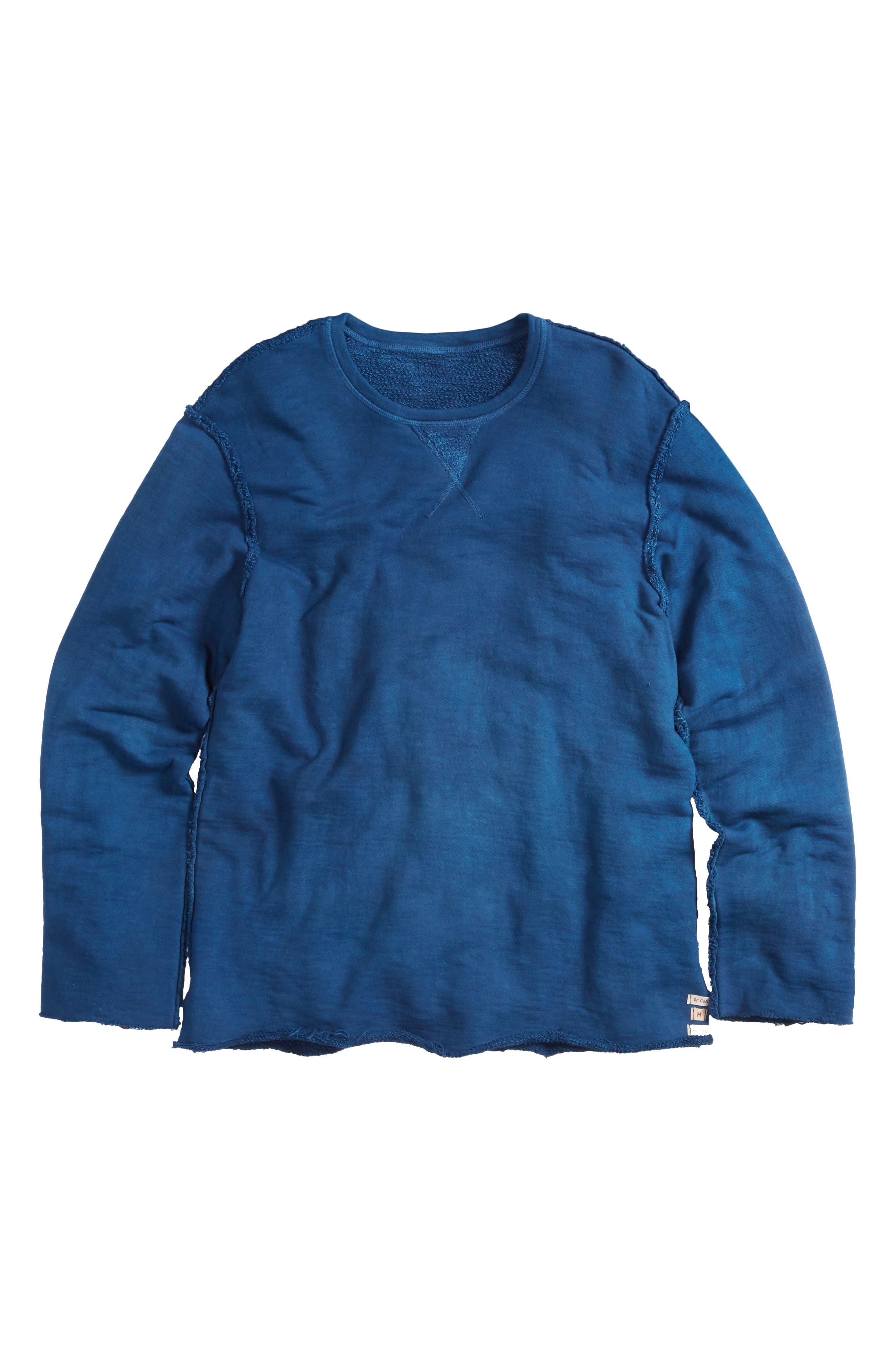 Malibu Reversible Sweatshirt,                             Main thumbnail 1, color,                             Indigo