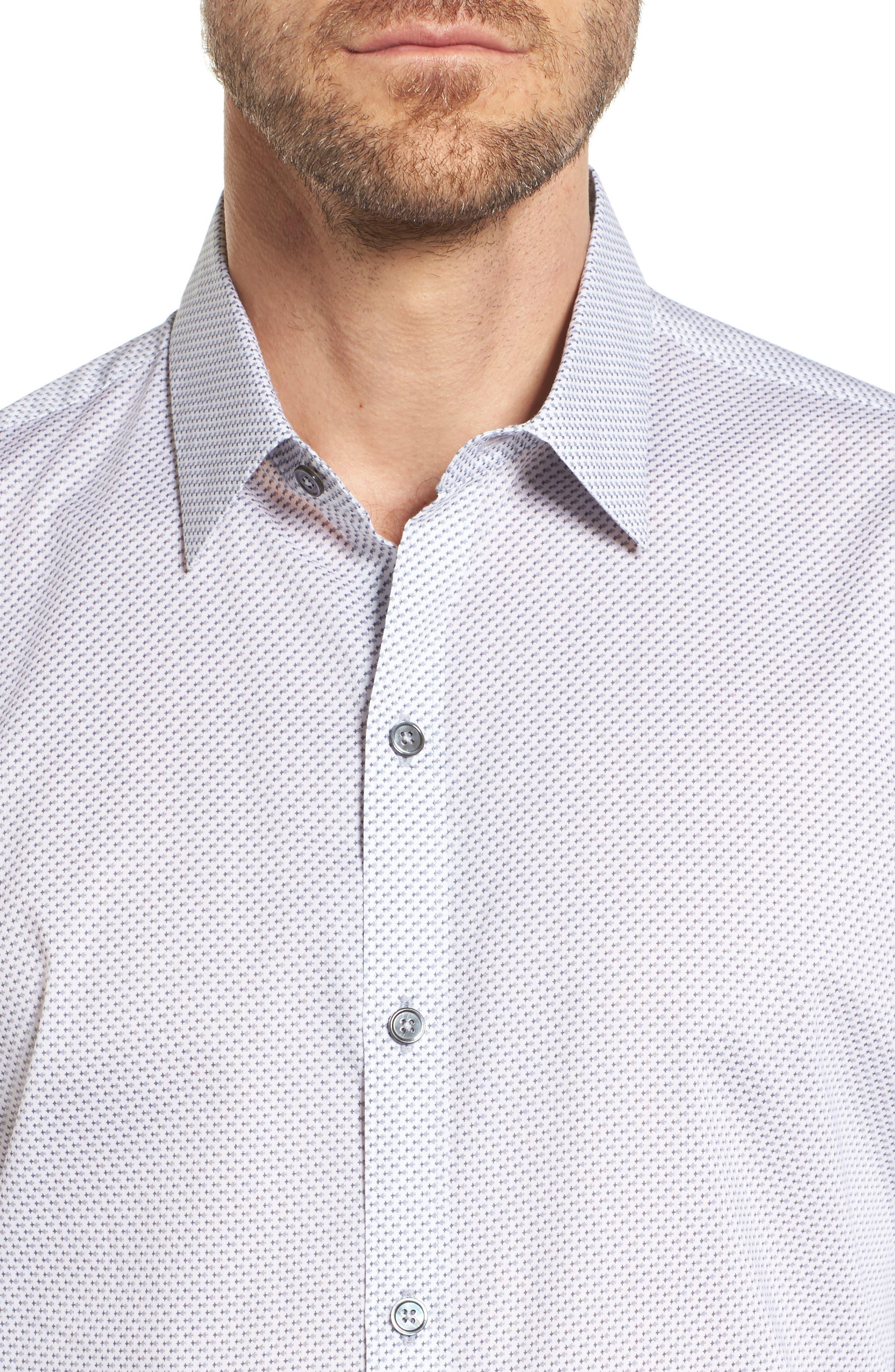 Alternate Image 4  - Zachary Prell Watts Arrow Print Sport Shirt
