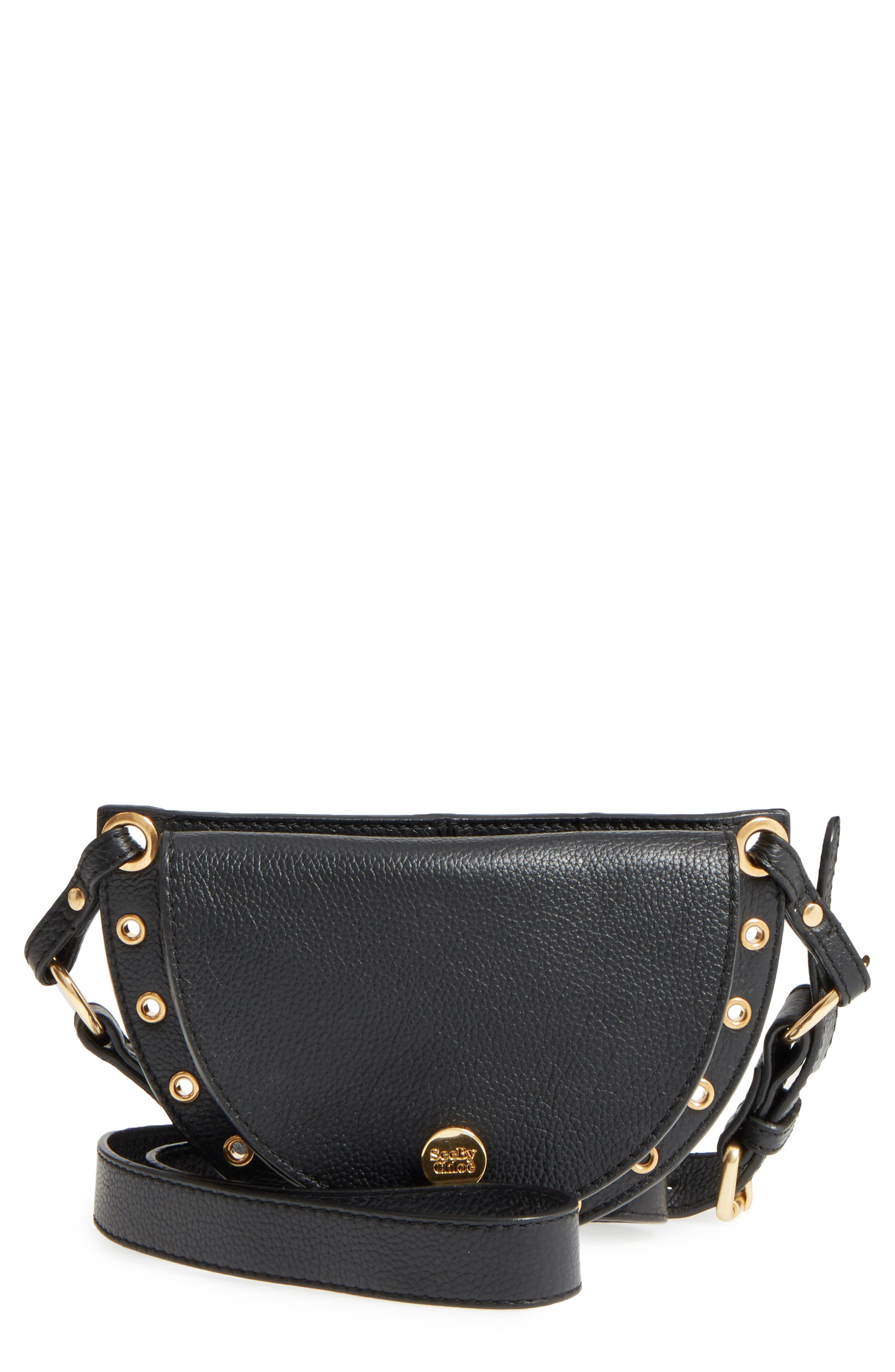 See by Chloé Kriss Grommet Leather Fanny Pack