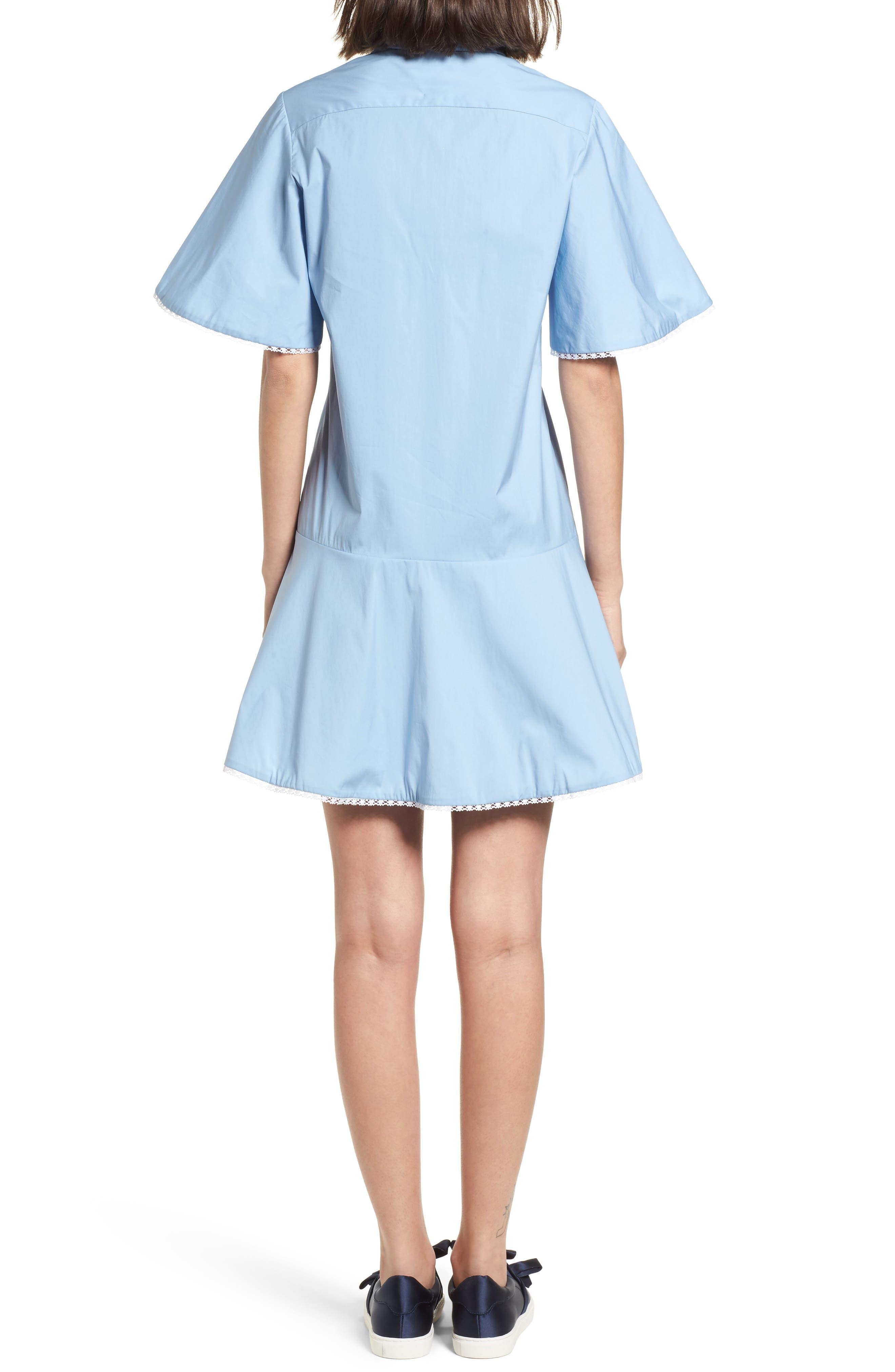Baby Dress,                             Alternate thumbnail 2, color,                             Blue