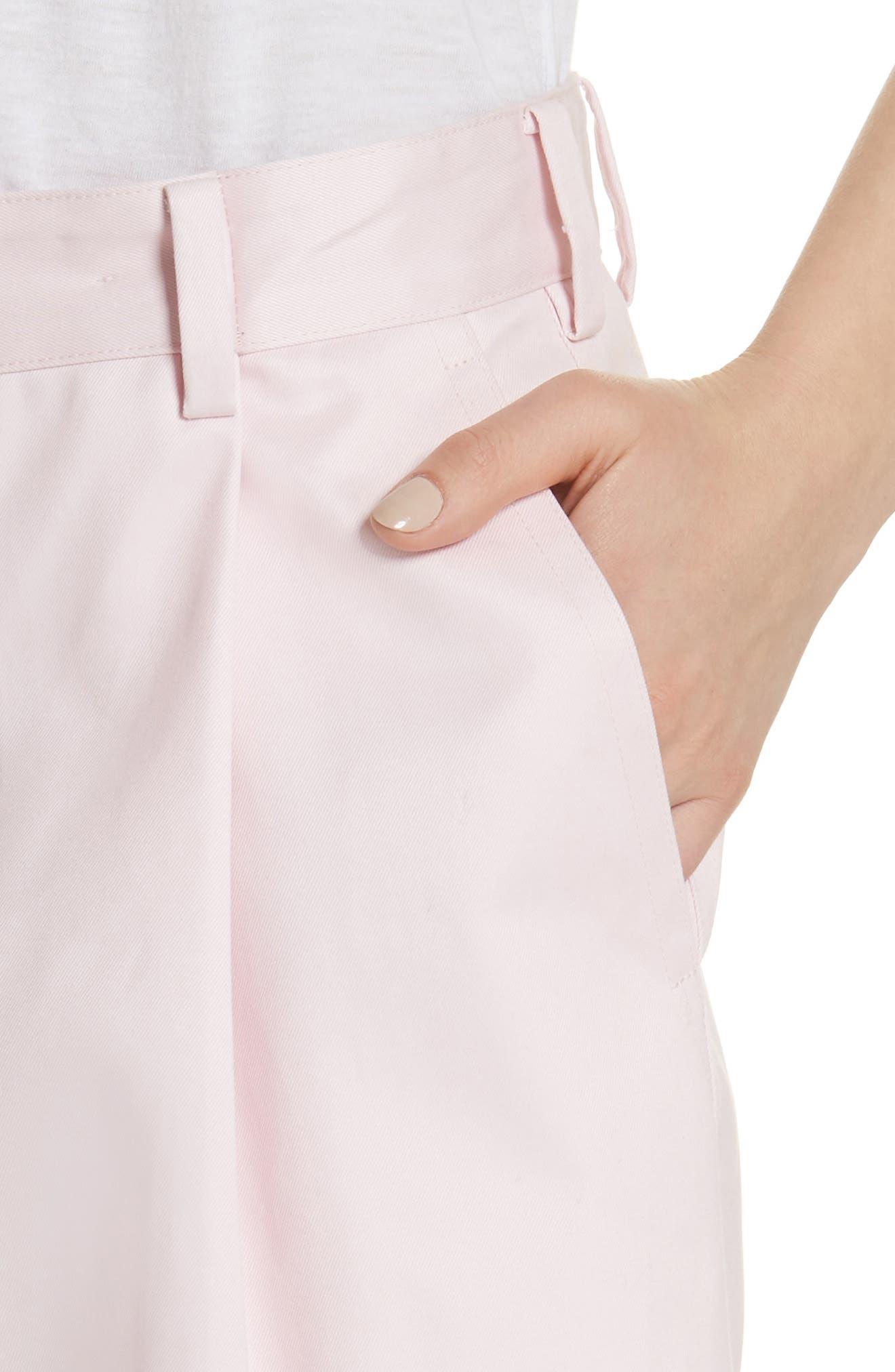Wide Leg Pants,                             Alternate thumbnail 4, color,                             Lollipop