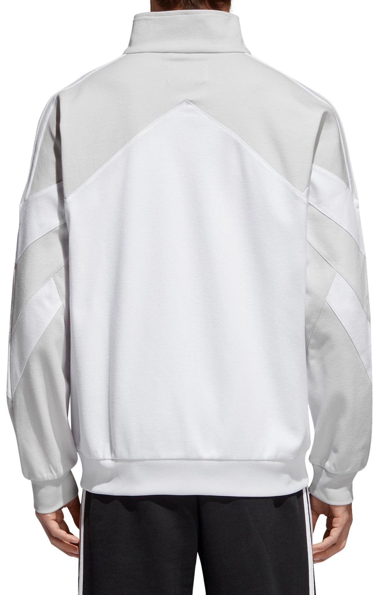 Palmeston Track Jacket,                             Alternate thumbnail 2, color,                             White