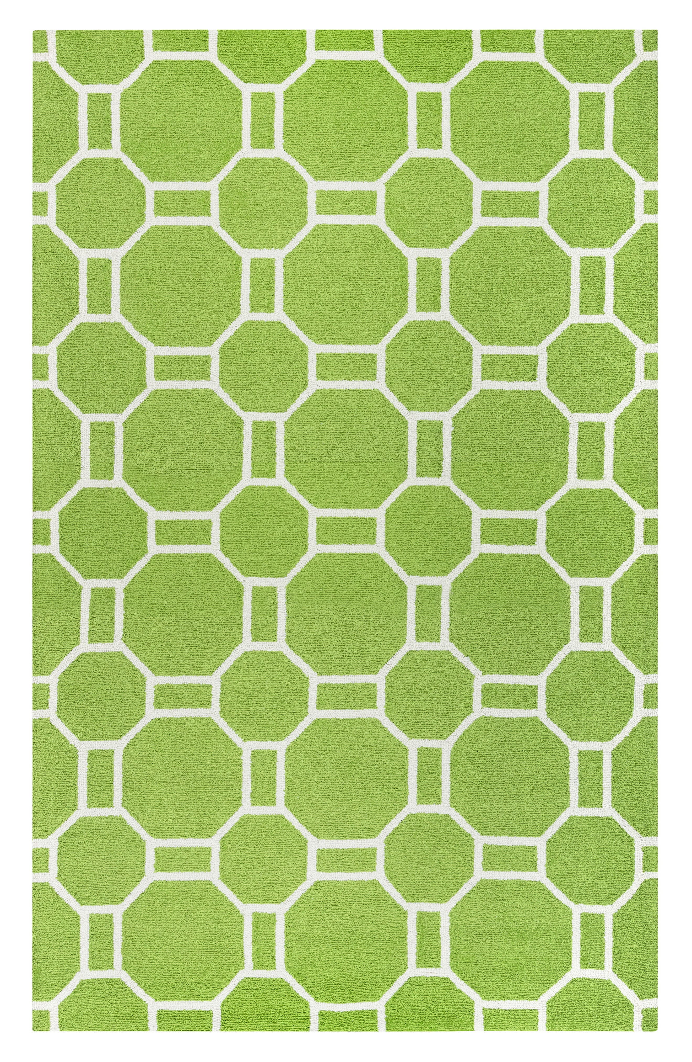 Azzura Hill Adrienna Rug,                             Main thumbnail 1, color,                             Lime