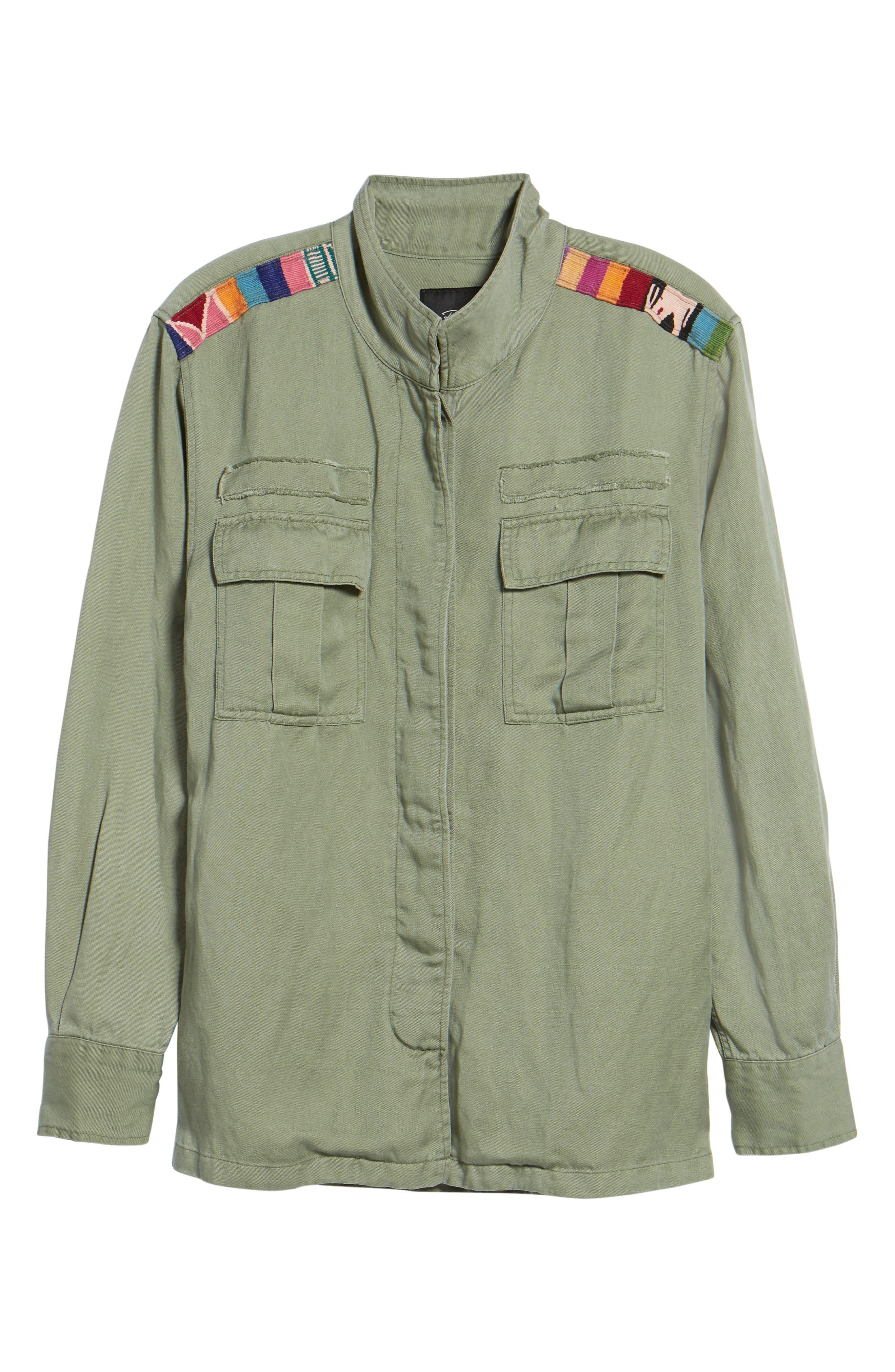 Hendrick Jacket,                             Alternate thumbnail 7, color,                             Sage