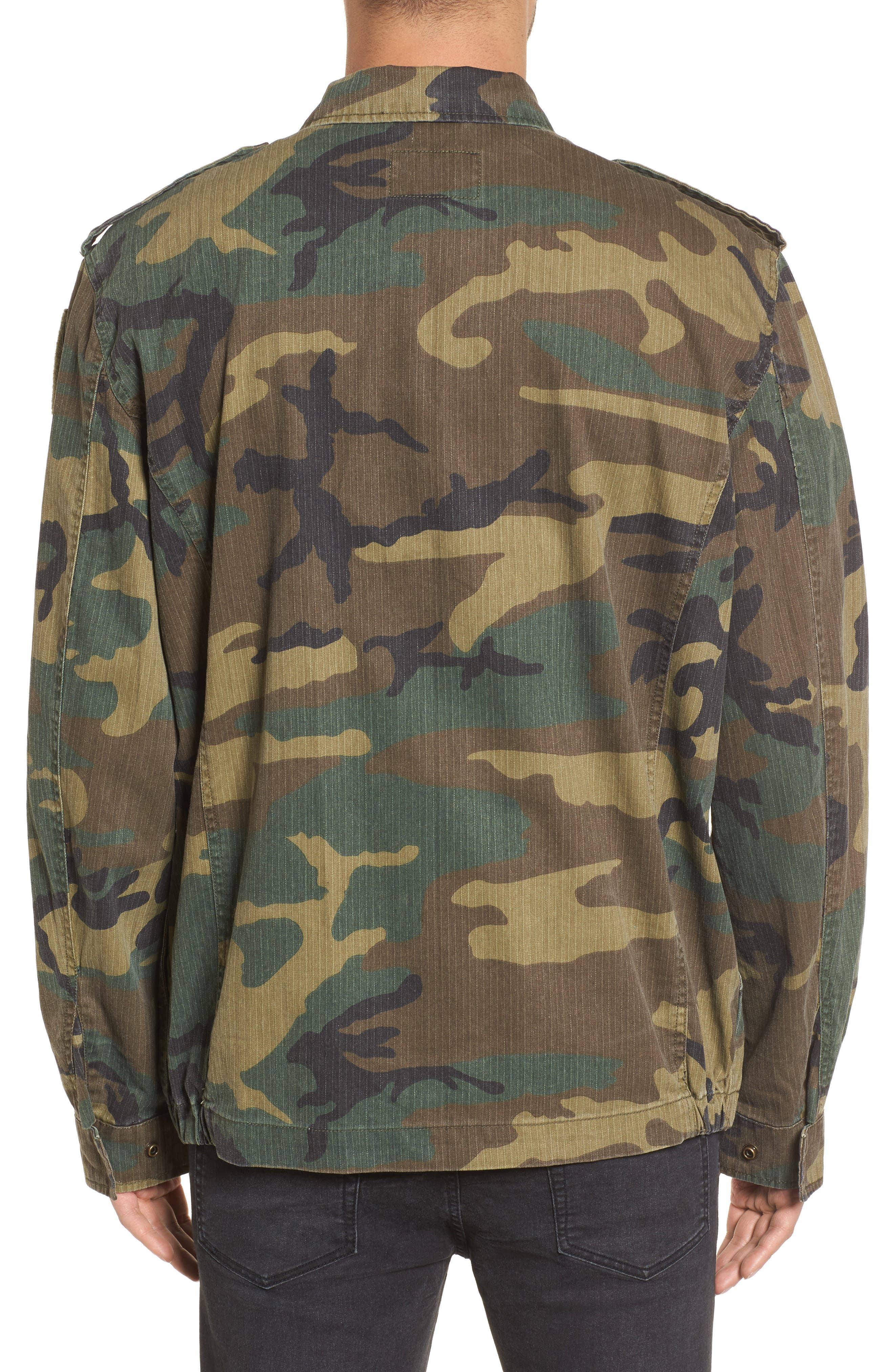 F-2 French Field Jacket,                             Alternate thumbnail 2, color,                             Woodland Camo