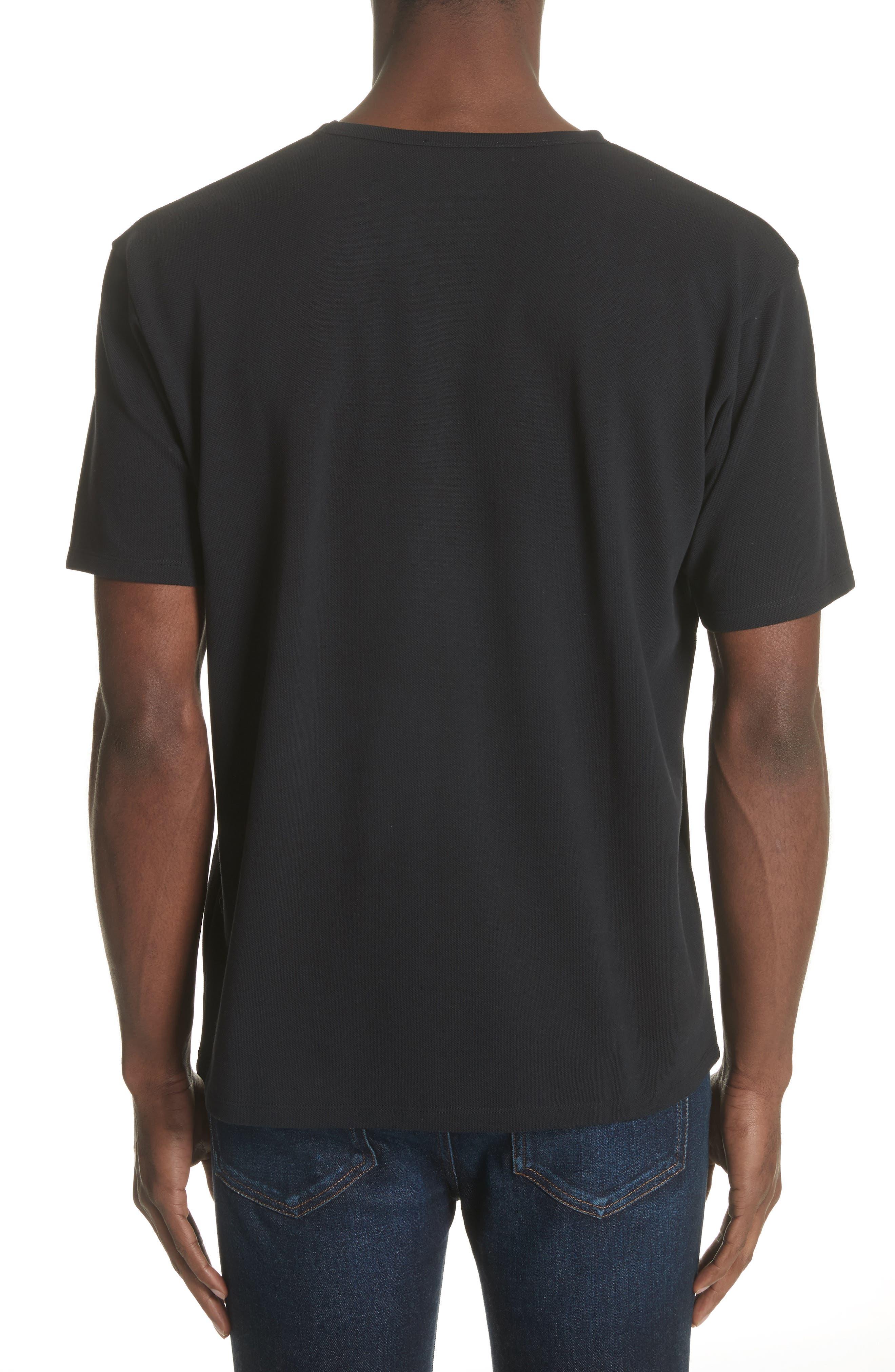 Niagara Crewneck T-Shirt,                             Alternate thumbnail 2, color,                             Black