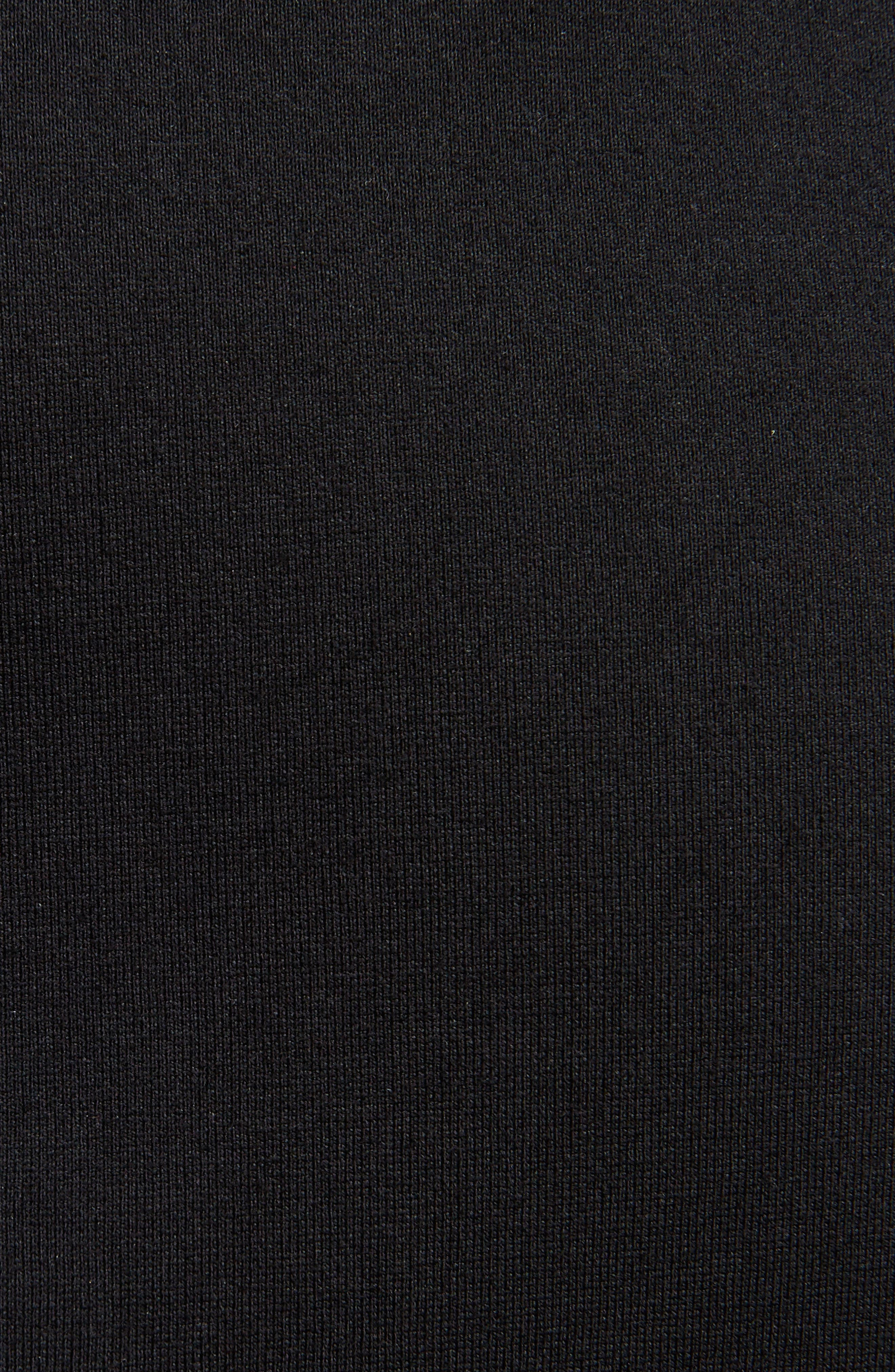 Asymmetrical Ruffle Skirt,                             Alternate thumbnail 6, color,                             Black