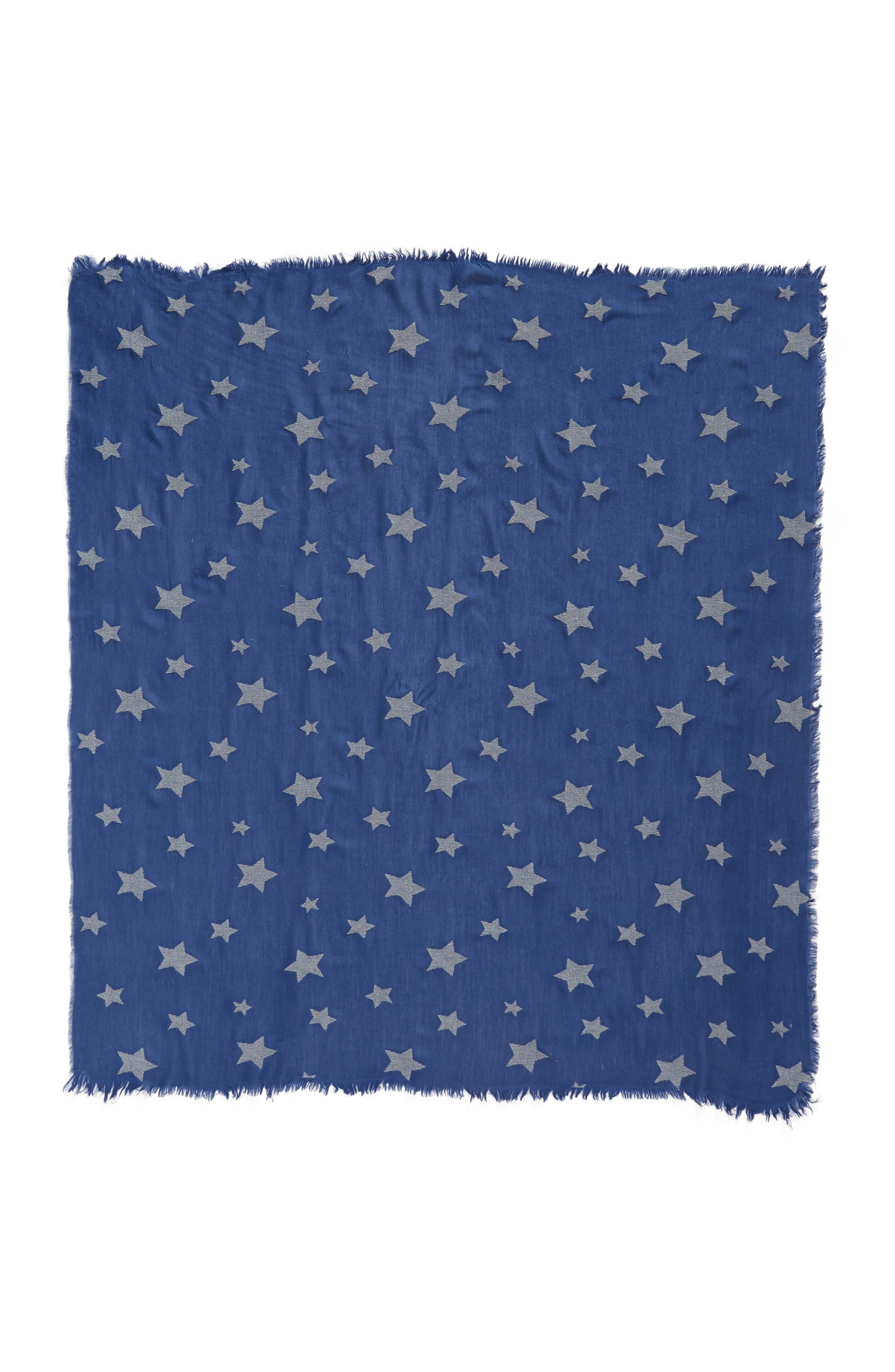 Star Scarf,                             Alternate thumbnail 3, color,                             Blue Multi