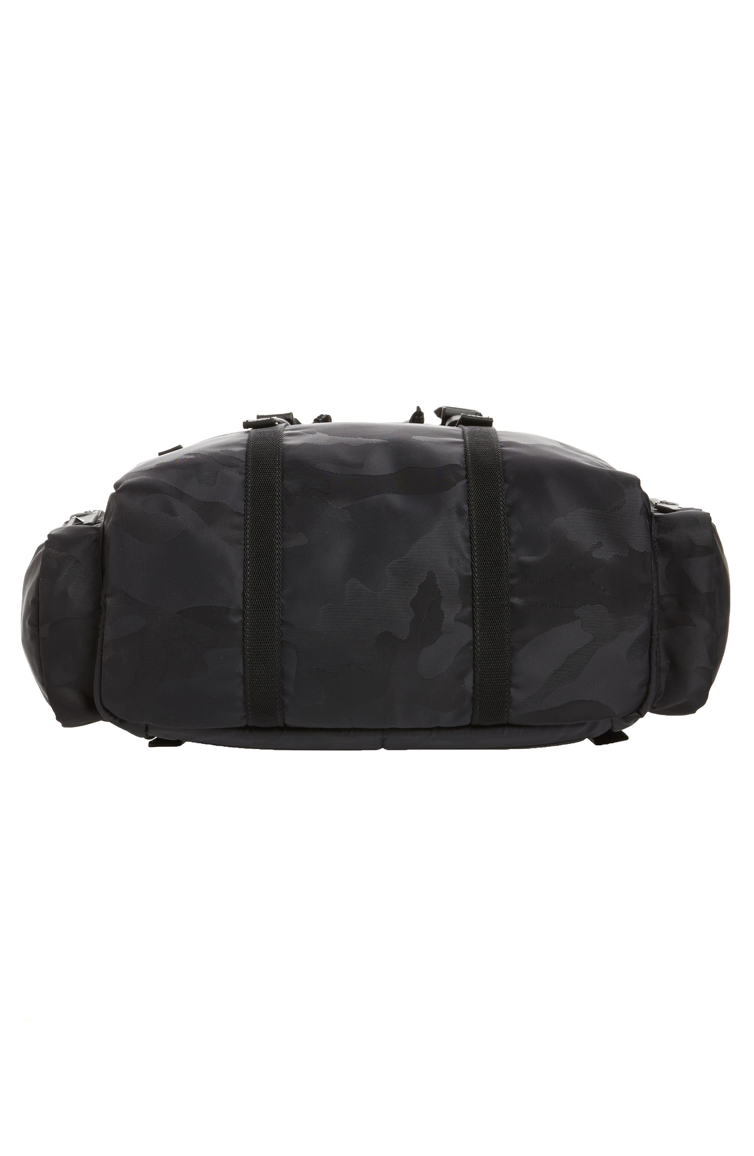 Camo Backpack,                             Alternate thumbnail 6, color,                             Black
