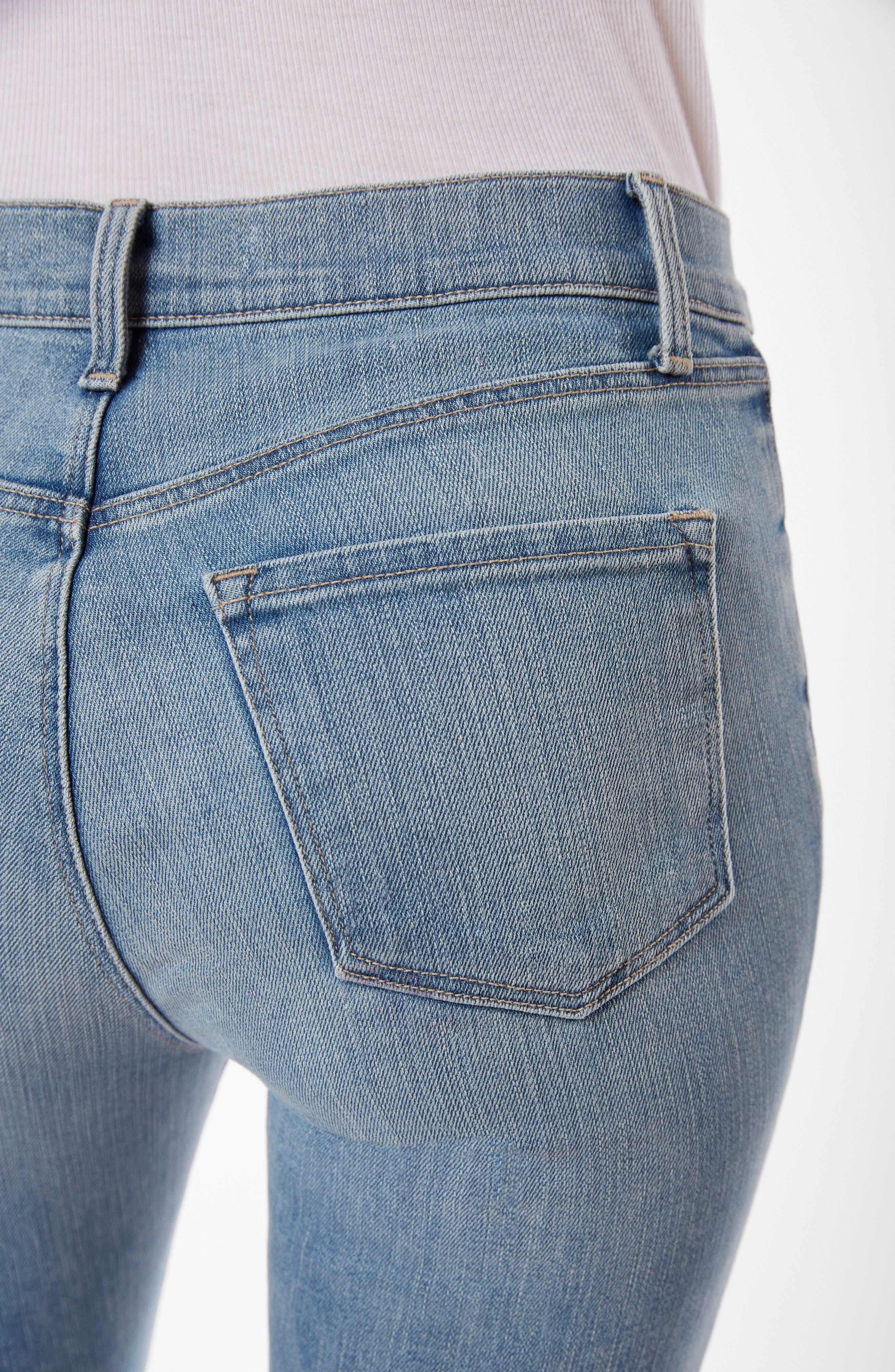 Alana Crop Skinny Jeans,                             Alternate thumbnail 4, color,                             Surge