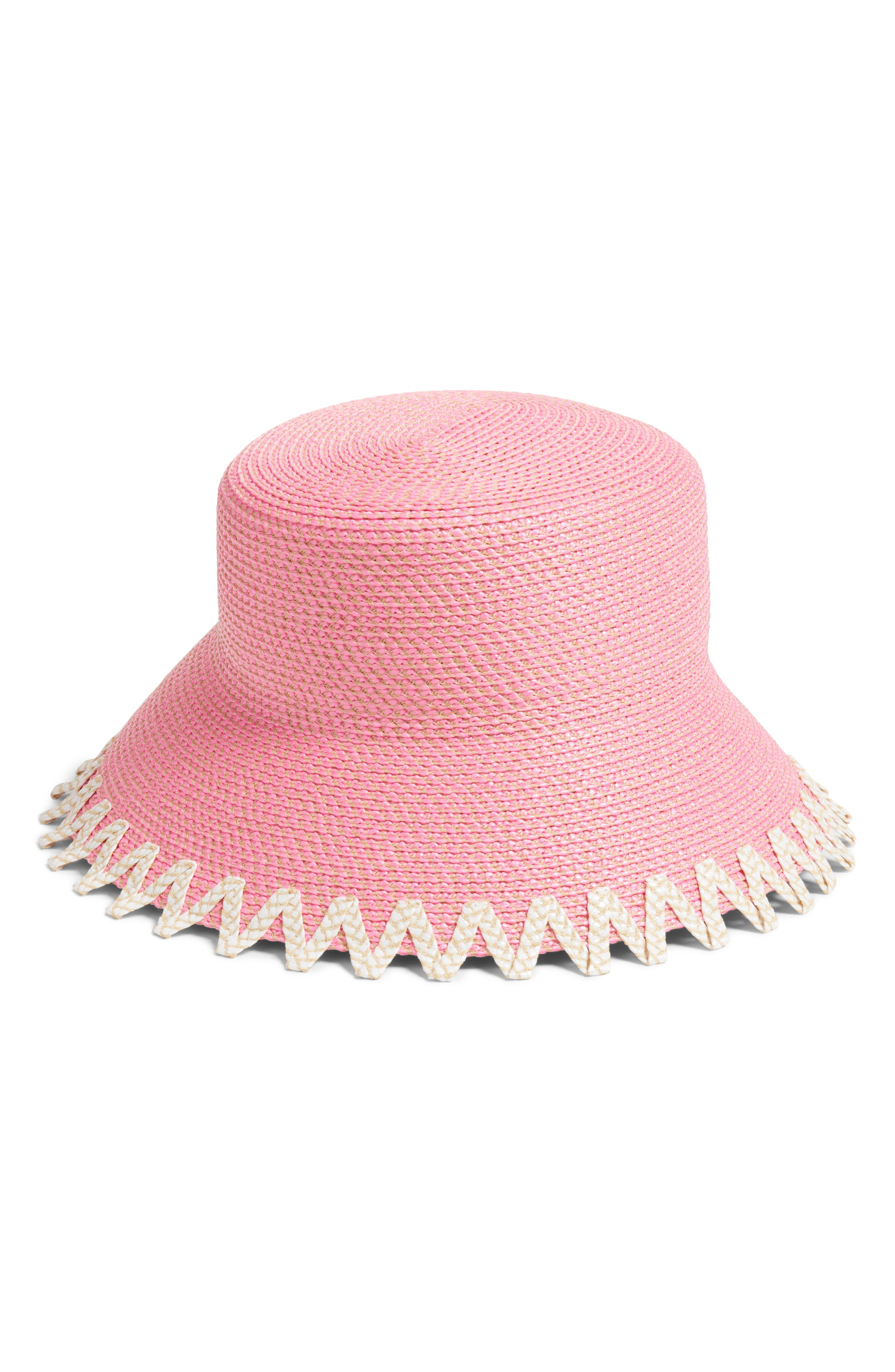 Eloise Squishee<sup>®</sup> Bucket Hat,                             Main thumbnail 1, color,                             Pink Mix