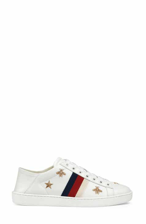 a8f57db04801 Gucci New Ace Convertible Heel Sneaker (Women)