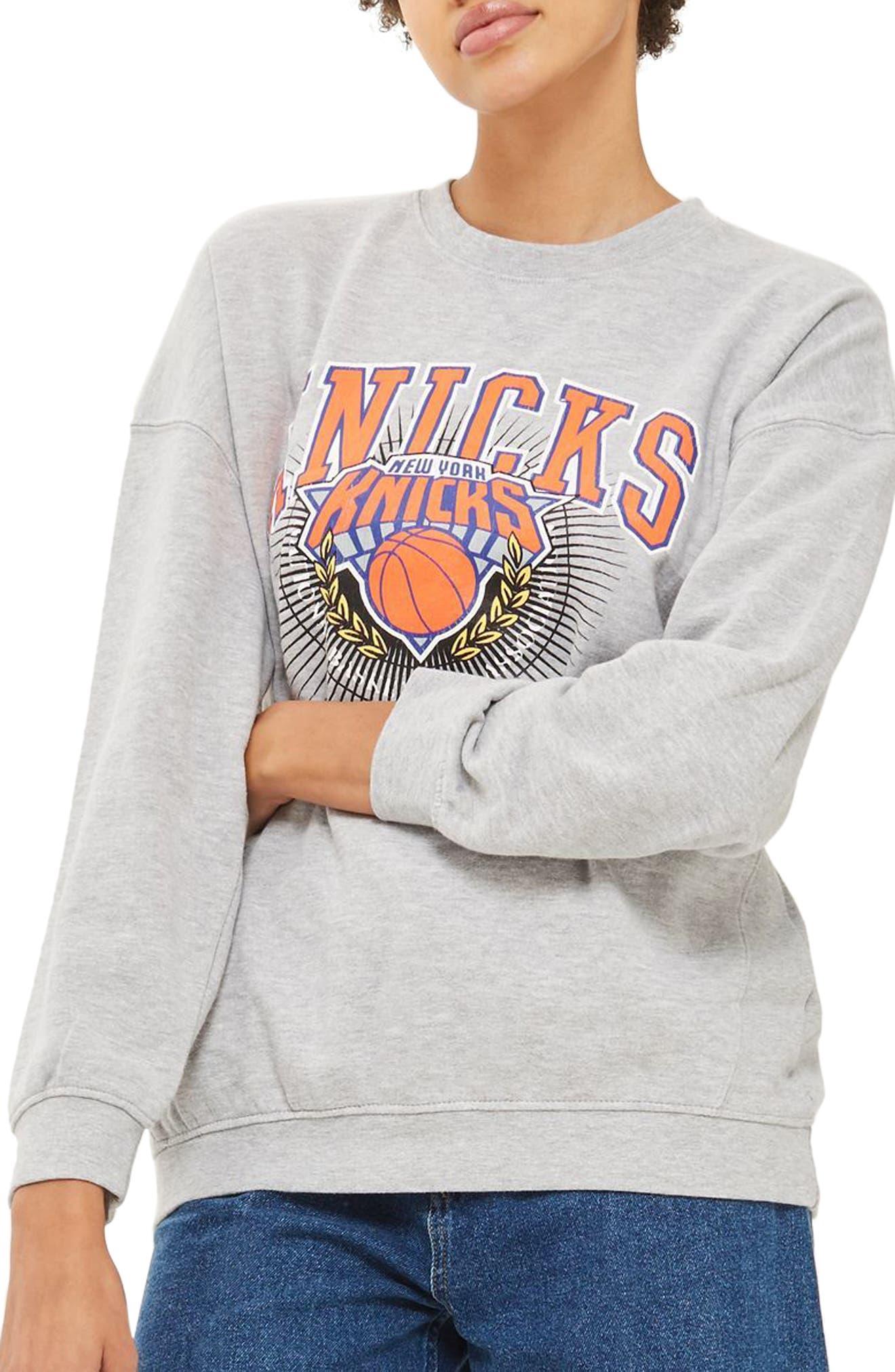 Topshop x UNK Knicks Sweatshirt