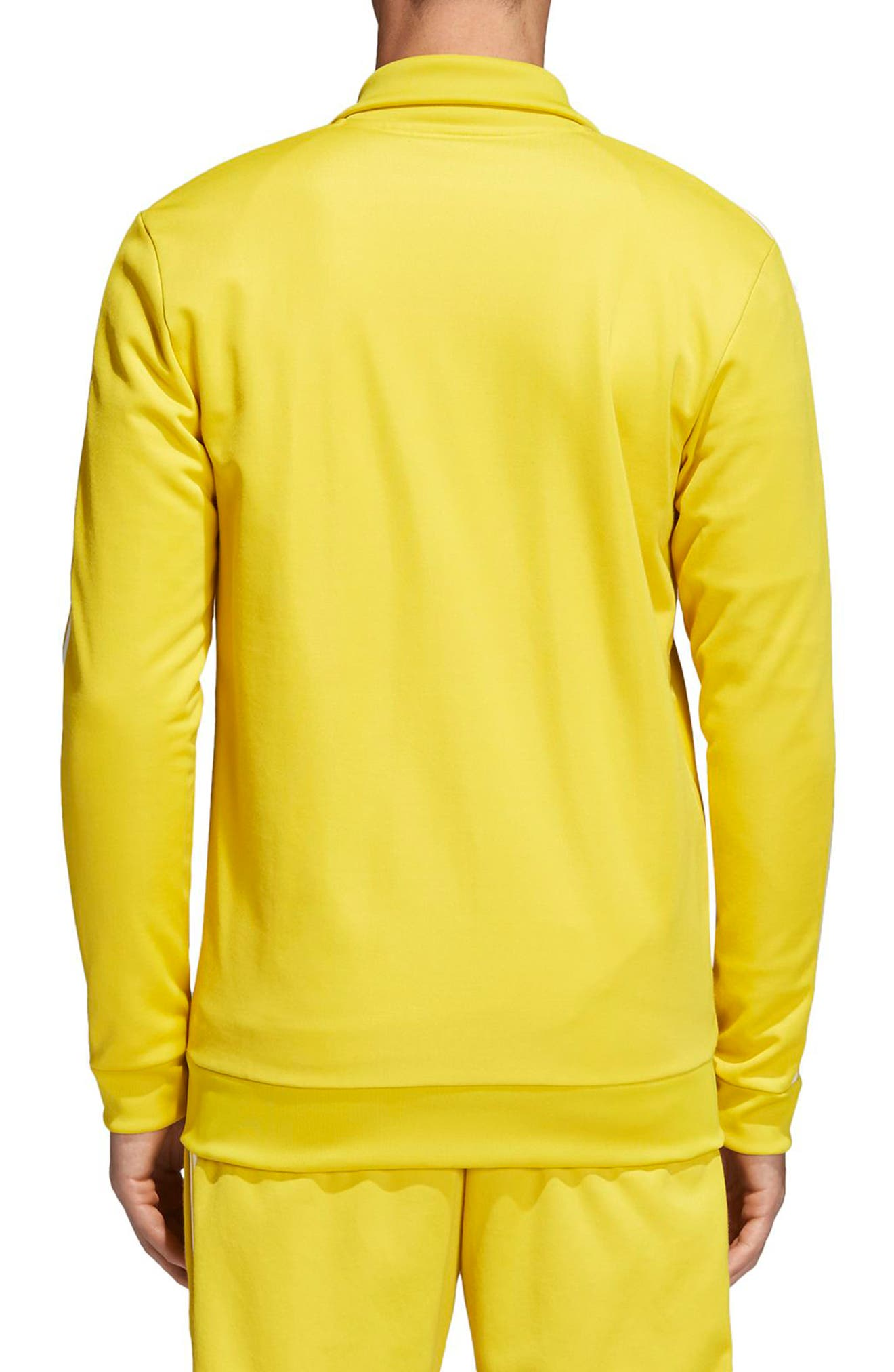 adidas Original Franz Beckenbauer Track Jacket,                             Alternate thumbnail 2, color,                             Tribe Yellow