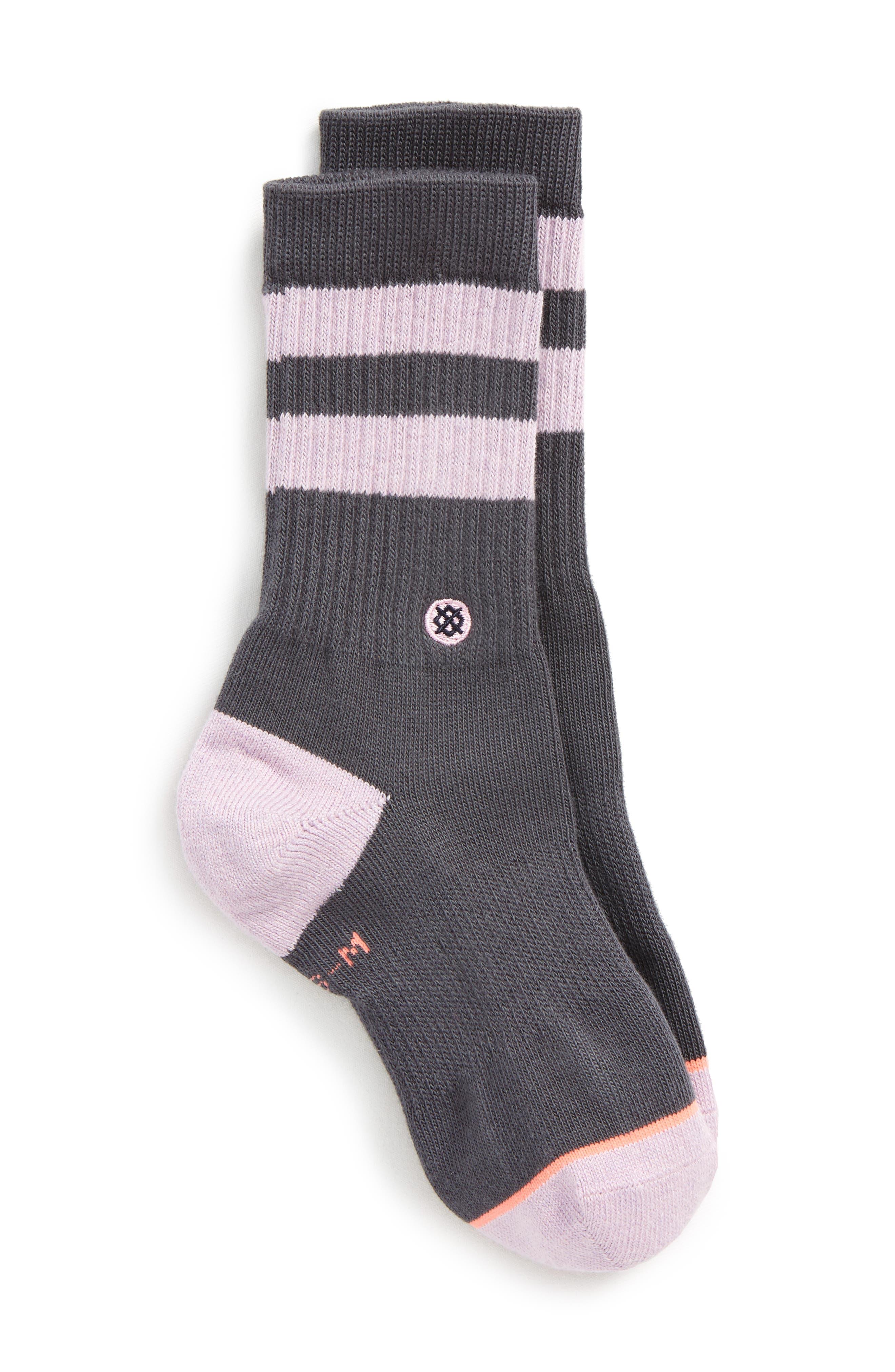 Alternate Image 1 Selected - Stance Harmony Crew Socks (Toddler, Little Kid & Big Kid)
