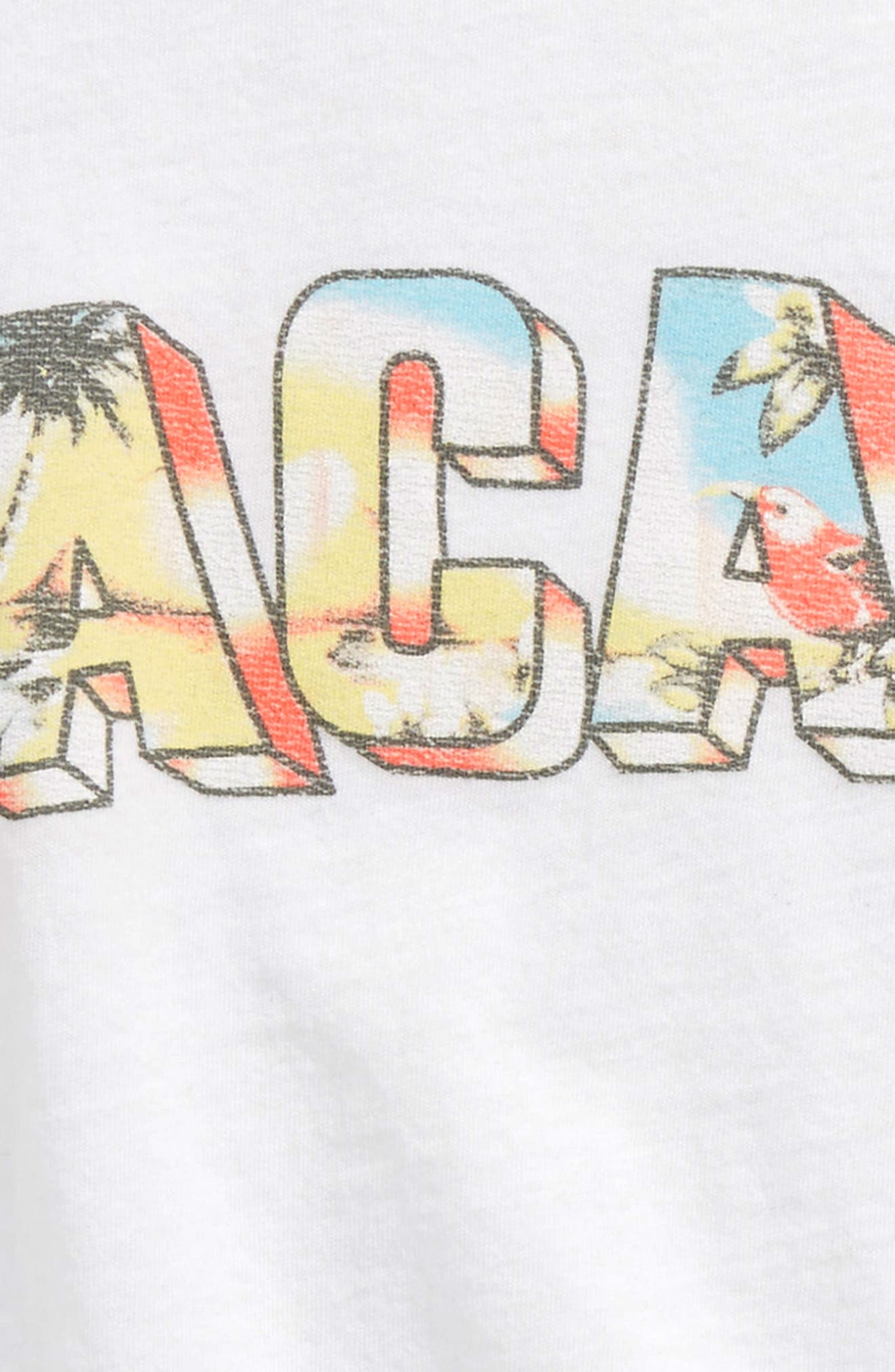 Vacay Day Graphic Tee,                             Alternate thumbnail 2, color,                             White - Wht