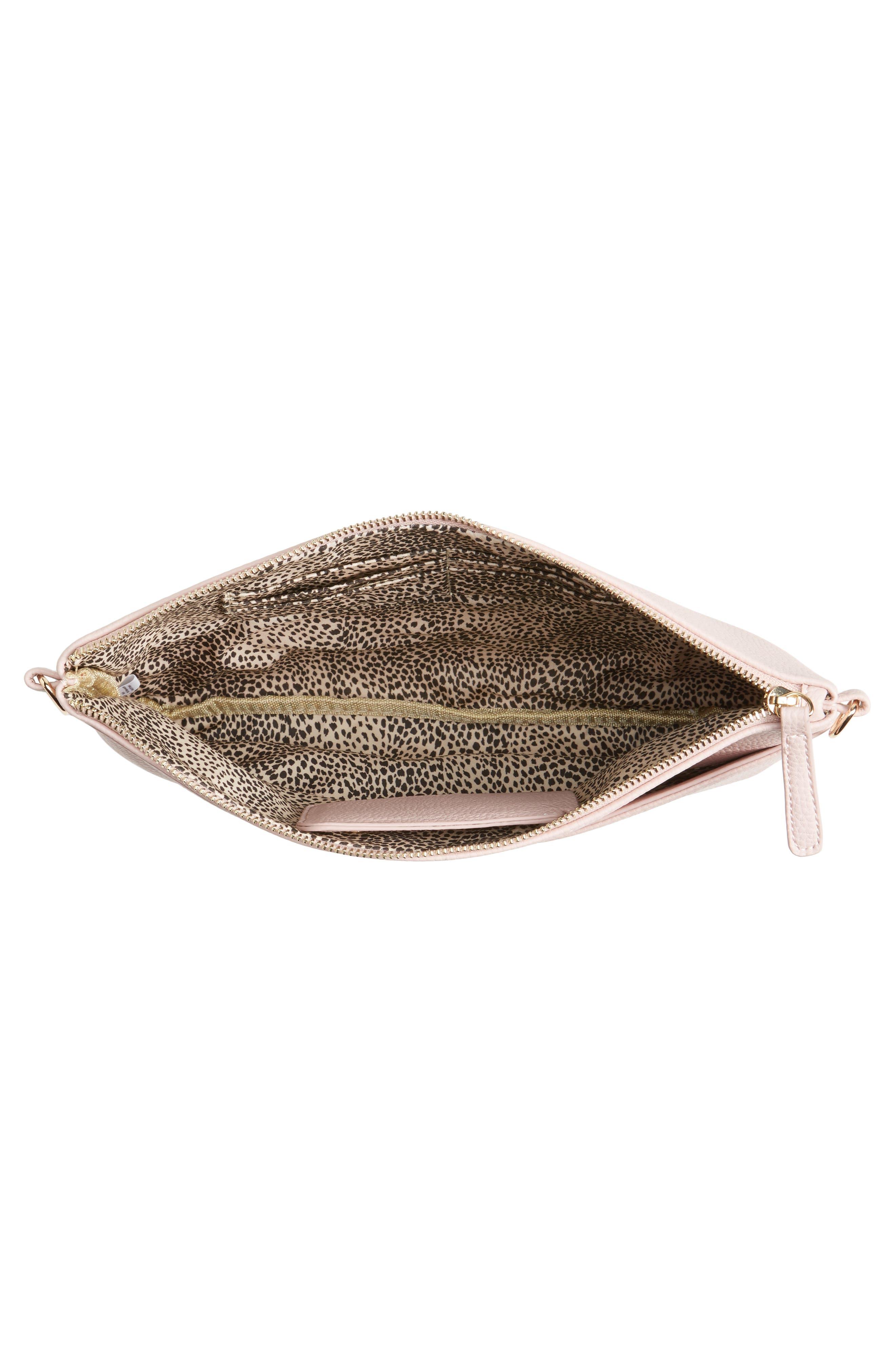 Alternate Image 4  - Emperia Faux Leather Crossbody Bag