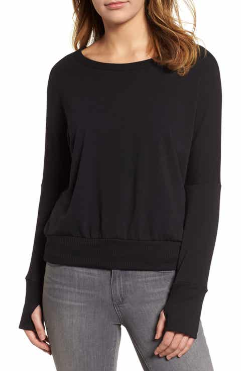 Caslon® Off-Duty Drop Shoulder Sweatshirt