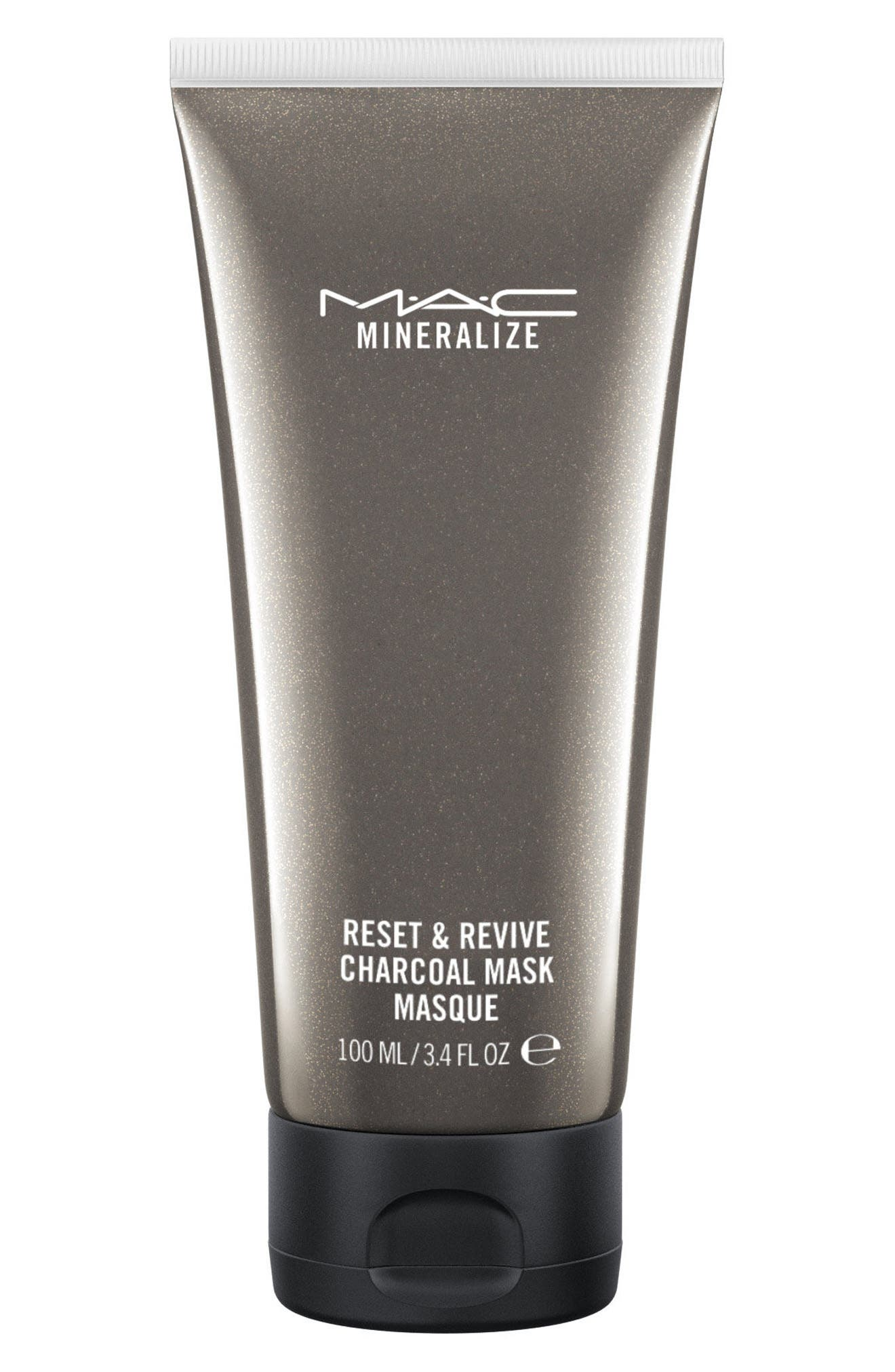 MAC Mineralize Reset & Revive Charcoal Mask,                             Main thumbnail 1, color,                             No Color