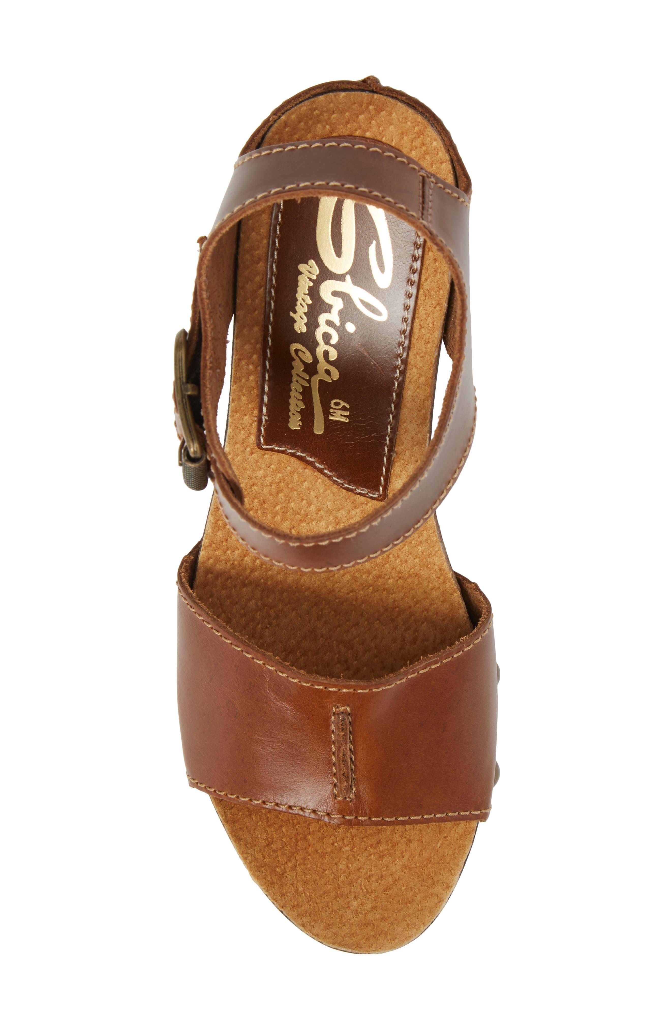 Alternate Image 5  - Sbicca Brella Studded Platform Wedge Sandal (Women)