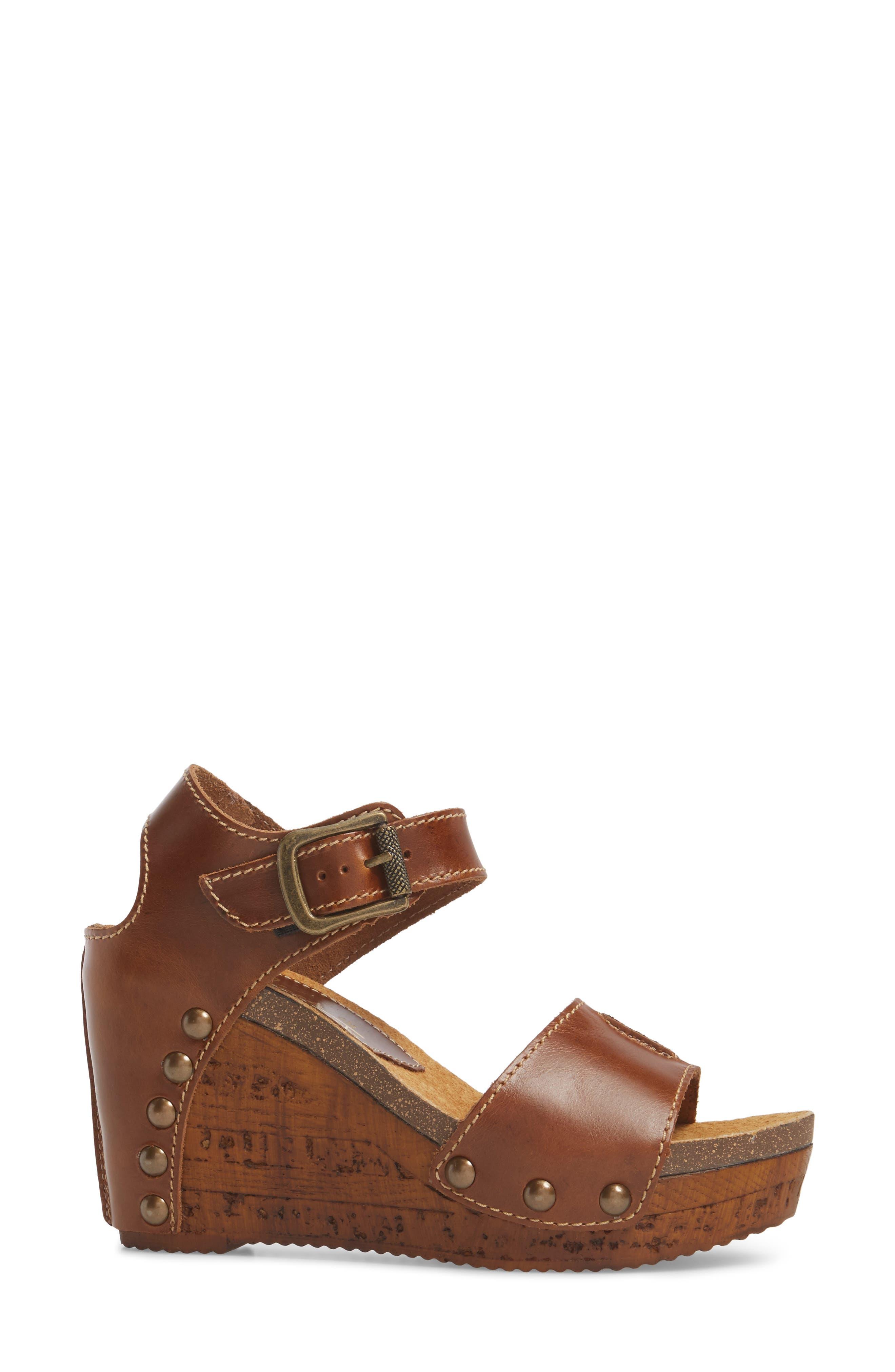 Alternate Image 3  - Sbicca Brella Studded Platform Wedge Sandal (Women)
