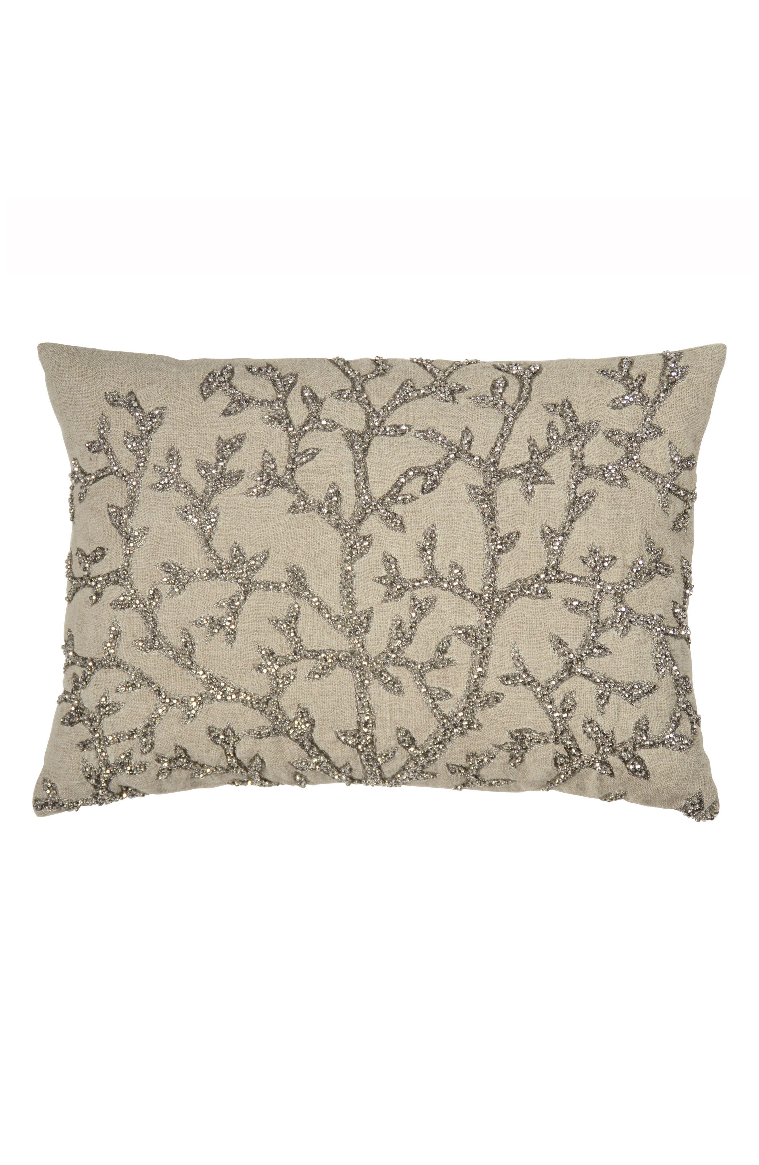 Main Image - Michael Aram Tree of Life Beaded Accent Pillow