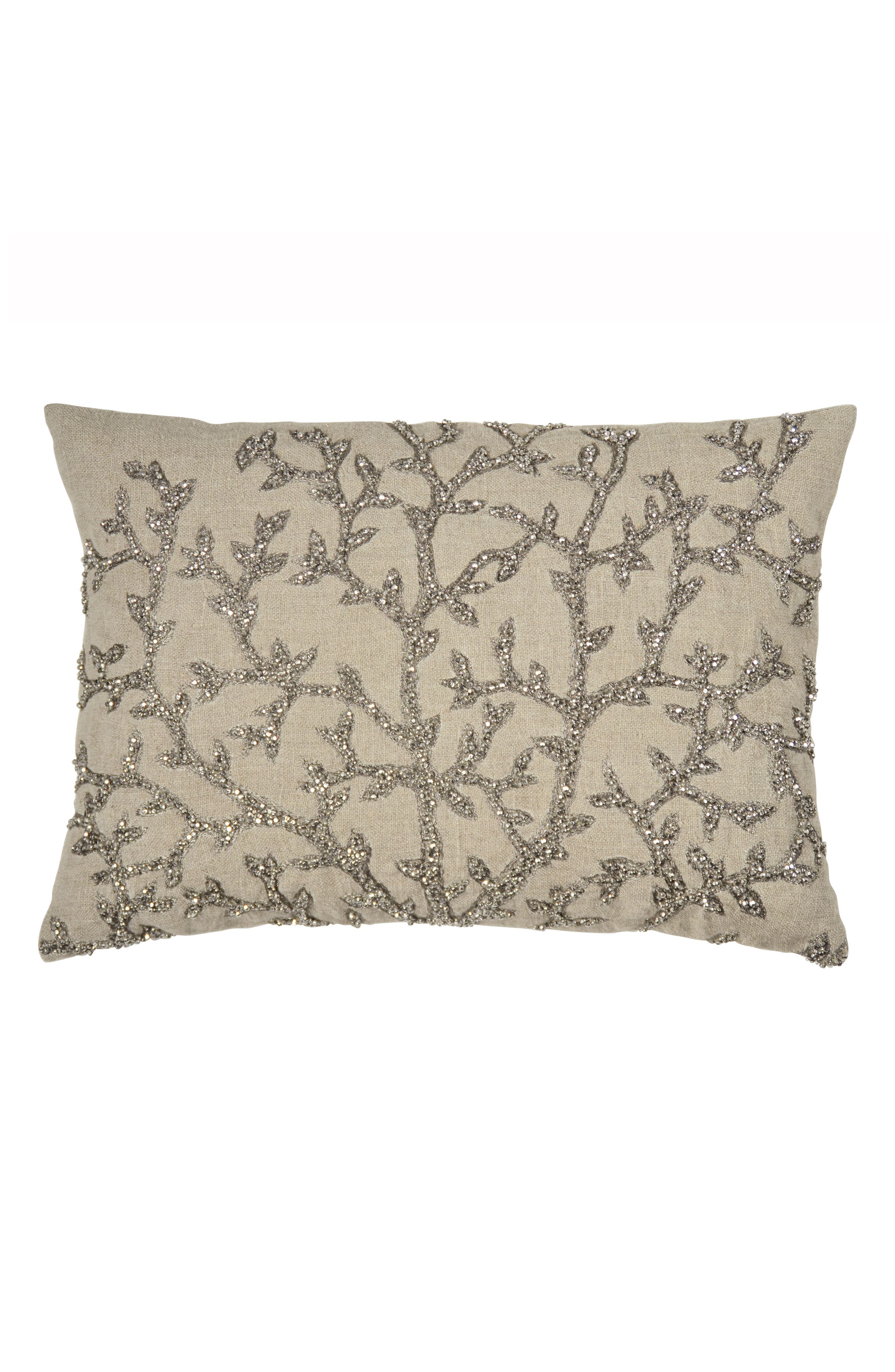 Michael Aram Tree of Life Beaded Accent Pillow