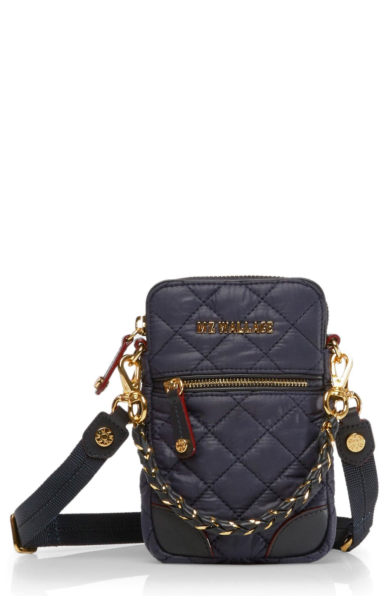 MZ Wallace Micro Crosby Quilted Oxford Nylon Convertible Crossbody